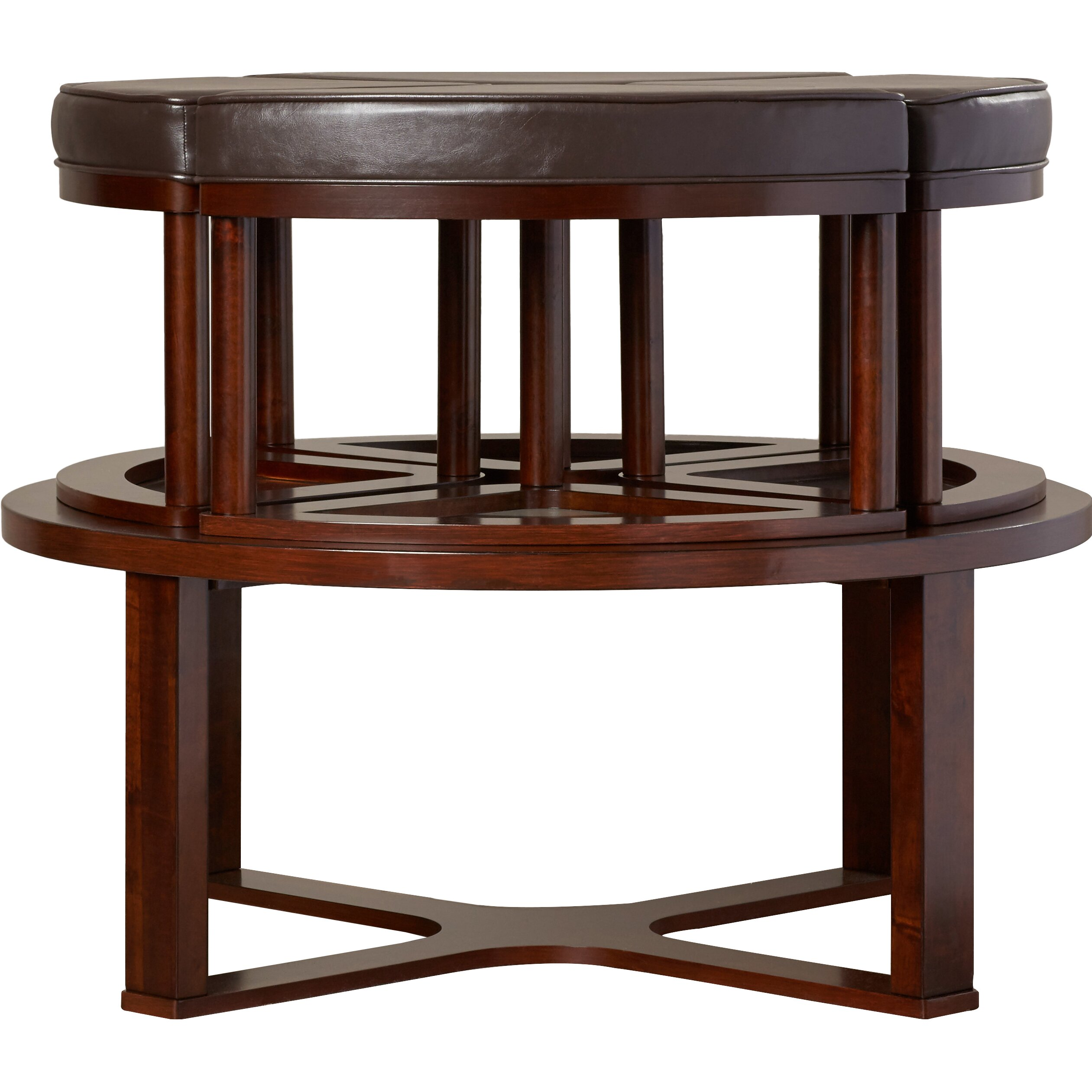 Darby Home Co Eastin 5 Piece Coffee Table Stool Set Reviews Wayfair