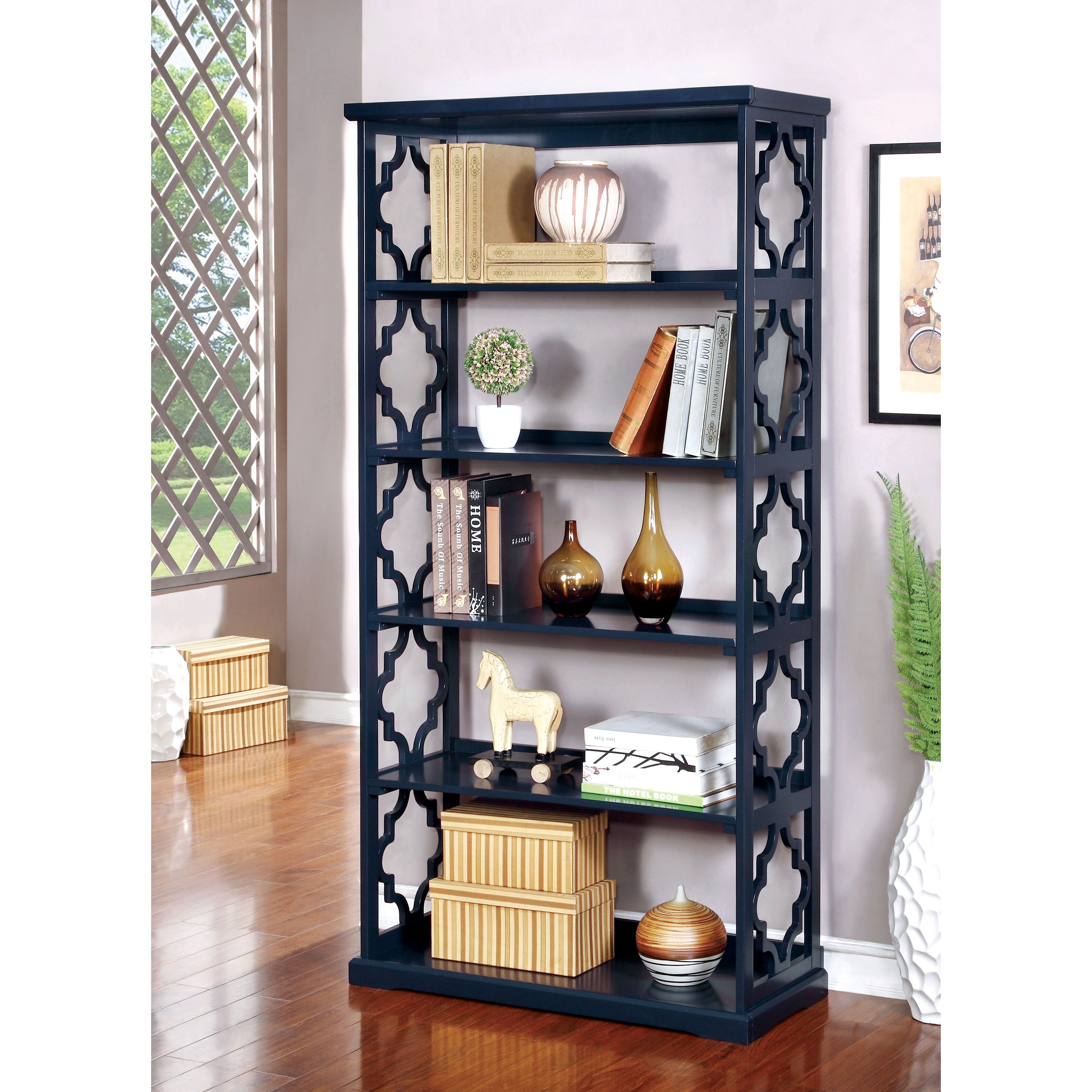 Darby Home Co Lular 6 Tier 72 Quot Etagere Bookcase Amp Reviews Wayfair