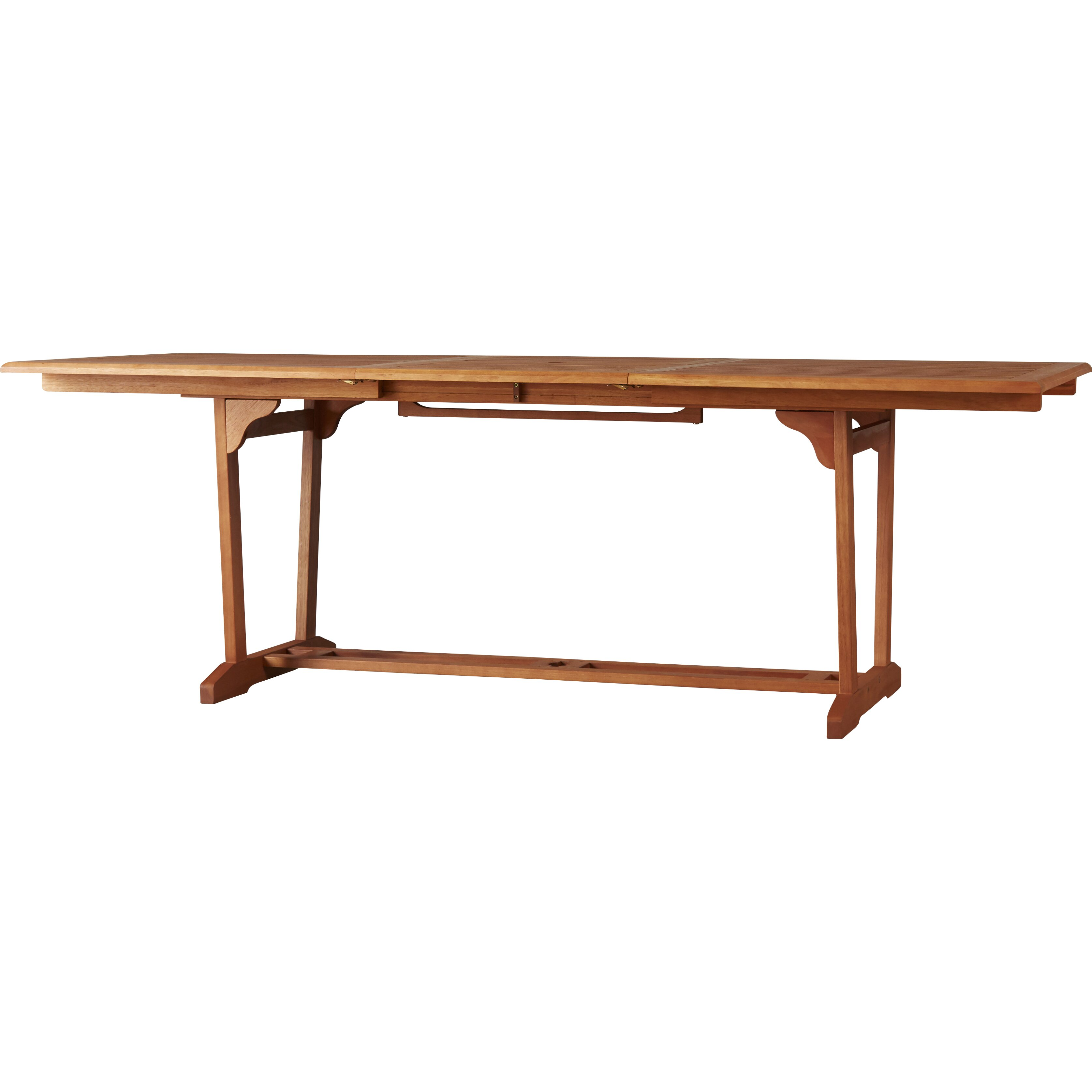 Rectangular Extendable Dining Table: Darby Home Co Goolsby Rectangular Extension Dining Table