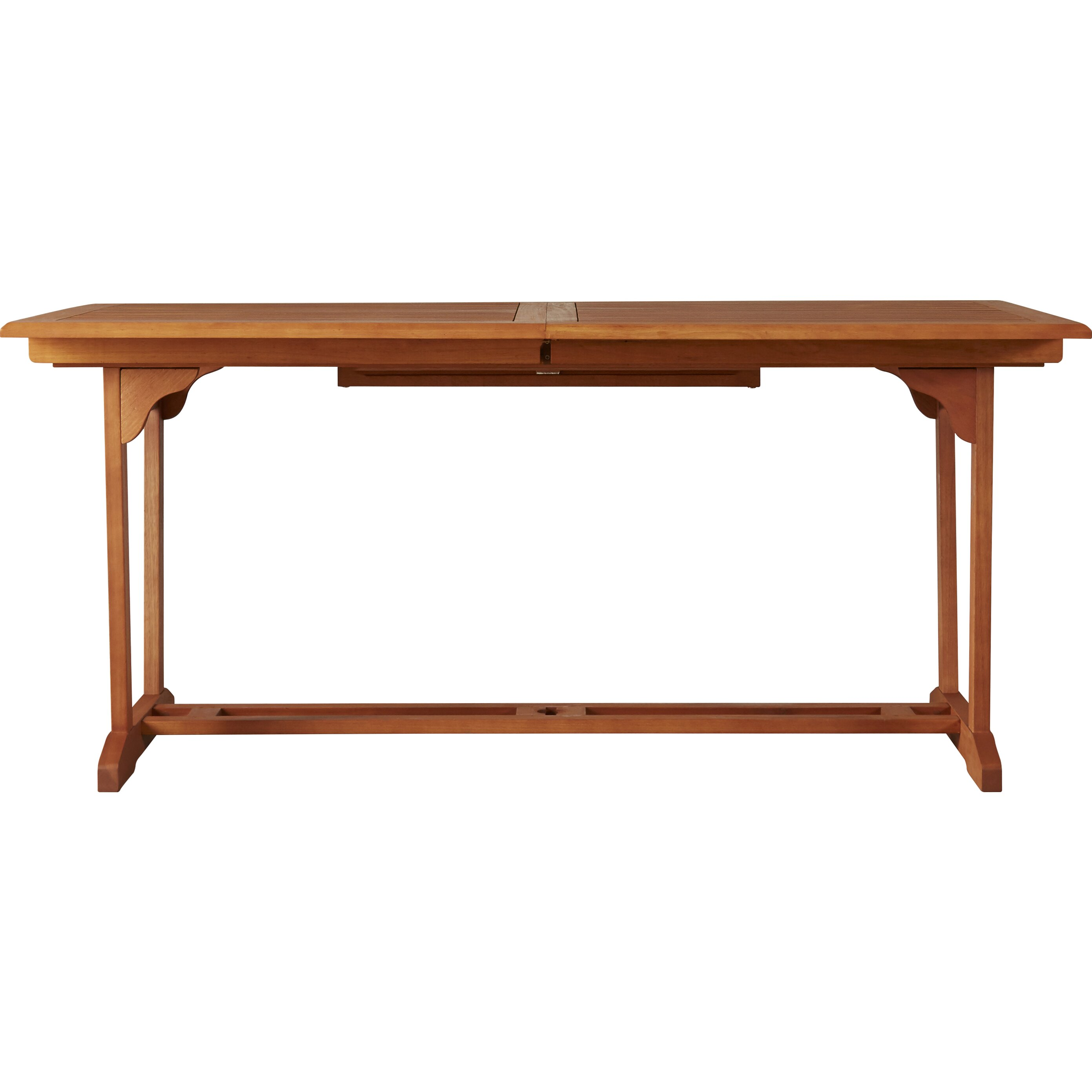 Darby Home CoC2AE Goolsby Rectangular Extension Dining Table DBHC