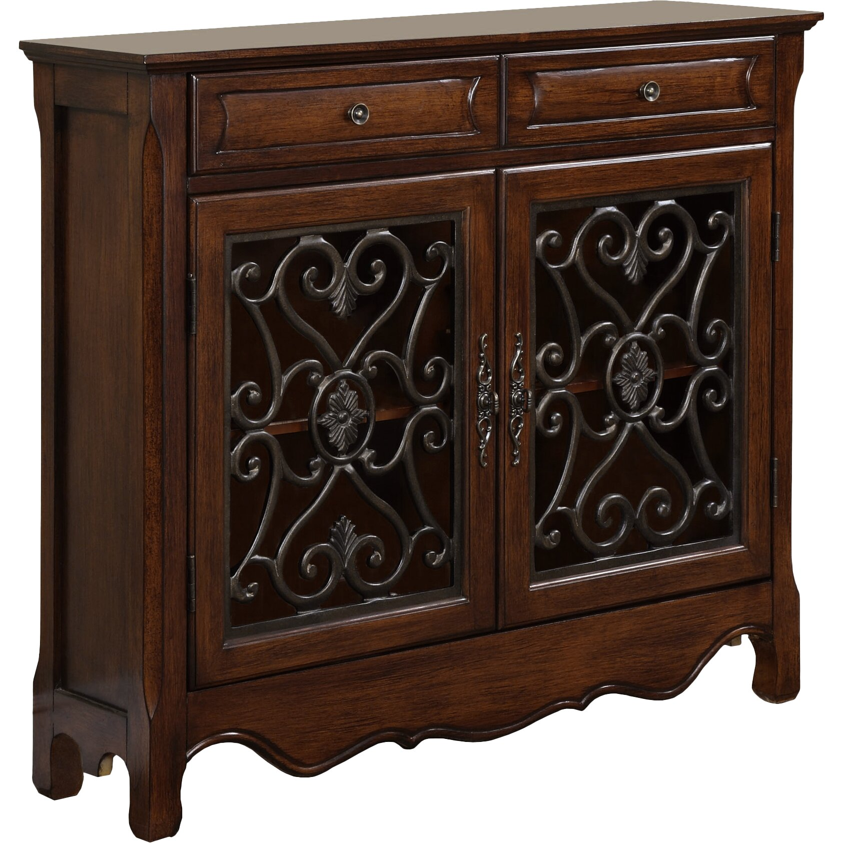 Darby Home Co Baldwin 2 Door And 2 Drawer Cabinet
