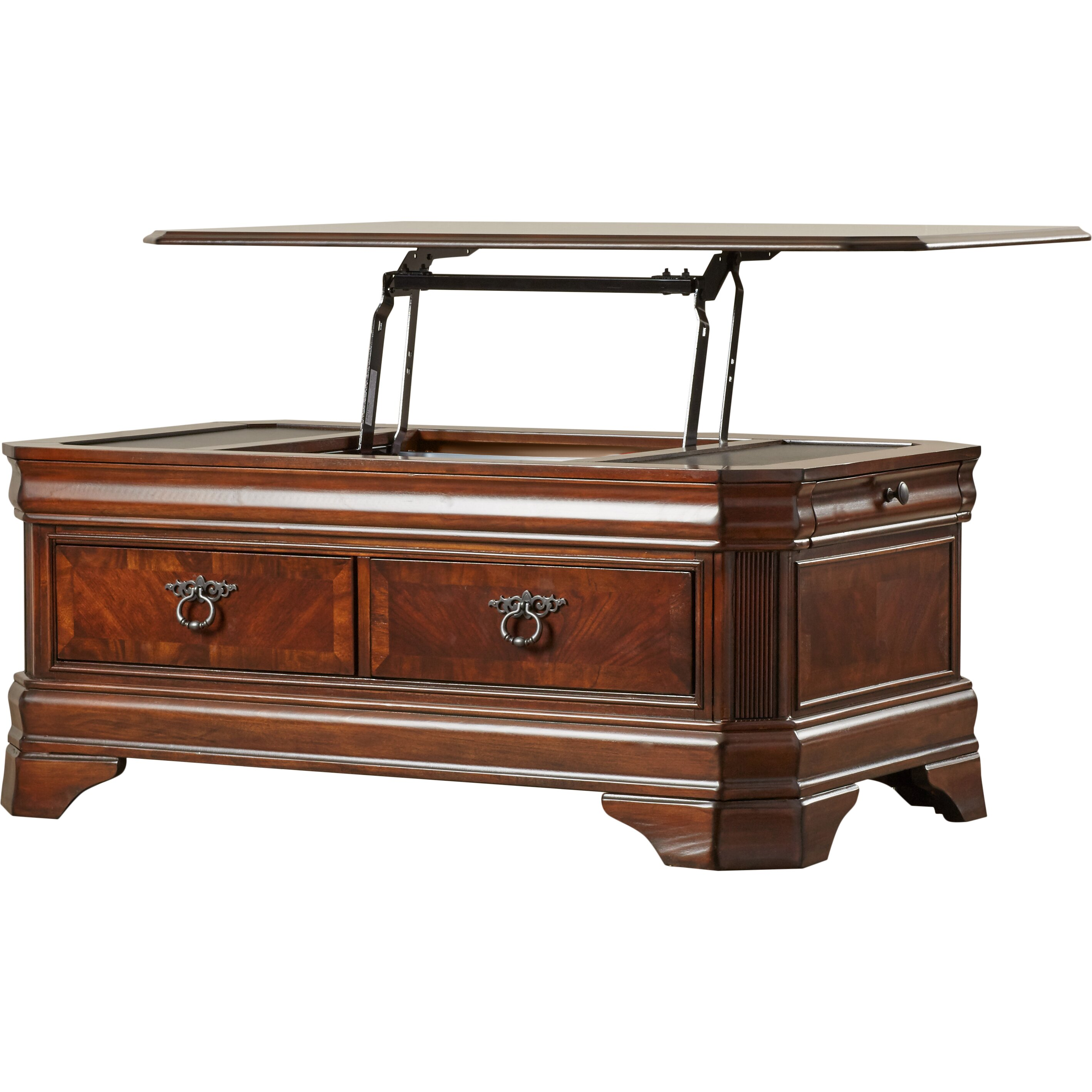 Barrett Trunk Coffee Table With Lift Top: Darby Home Co Busse Trunk Coffee Table With Lift Top