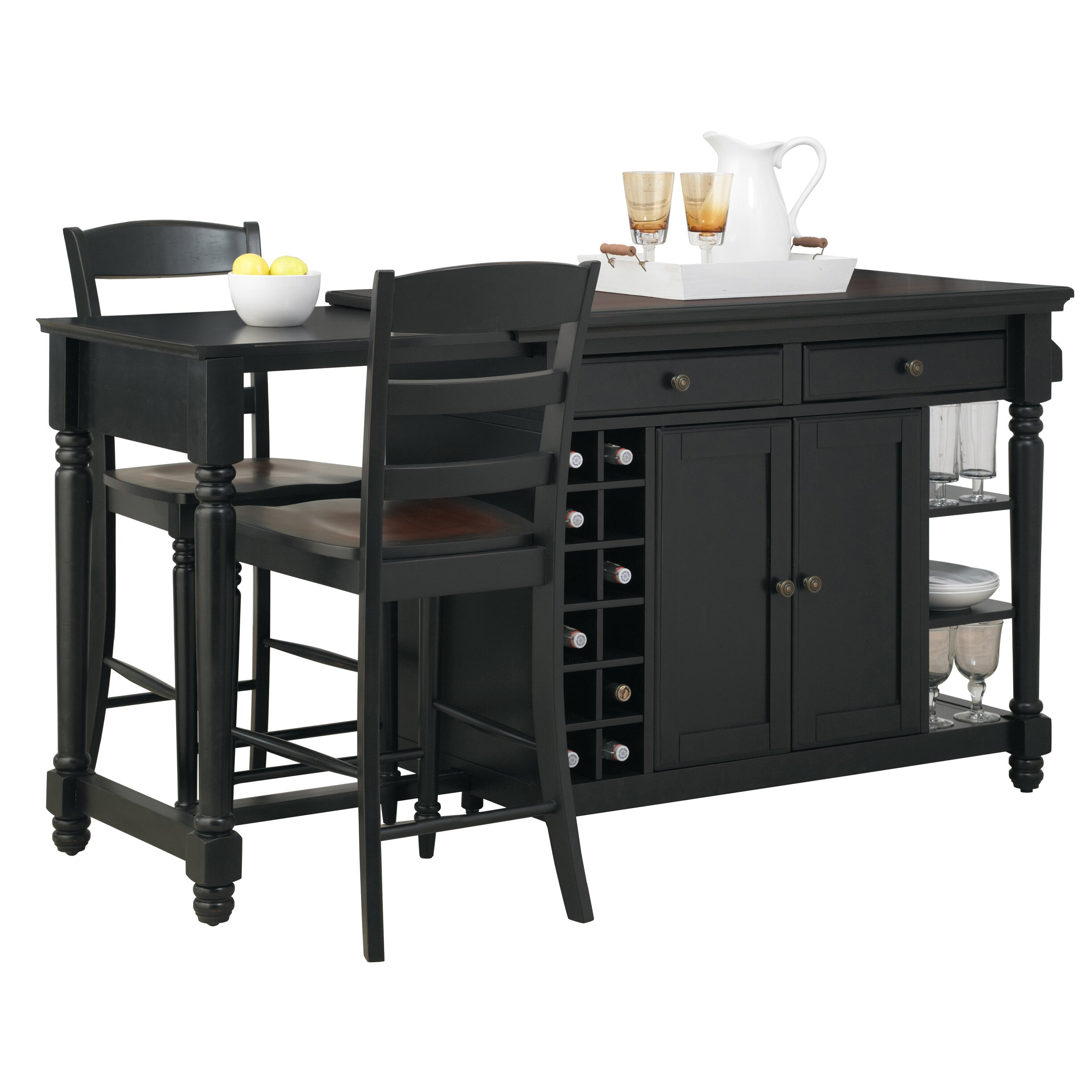 Darby Home Co Cleanhill Kitchen Island Reviews Wayfair