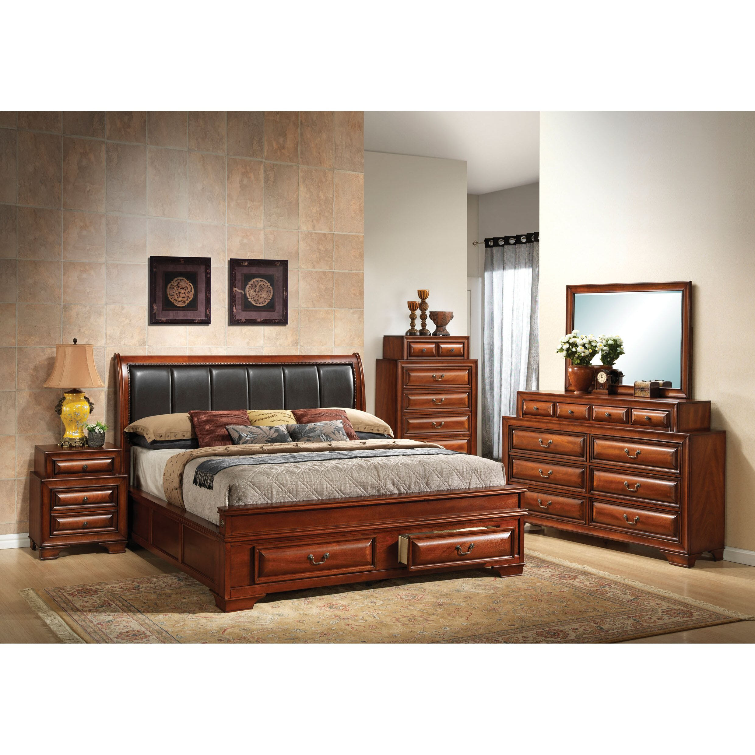 darby home co edwardsville panel customizable bedroom set reviews