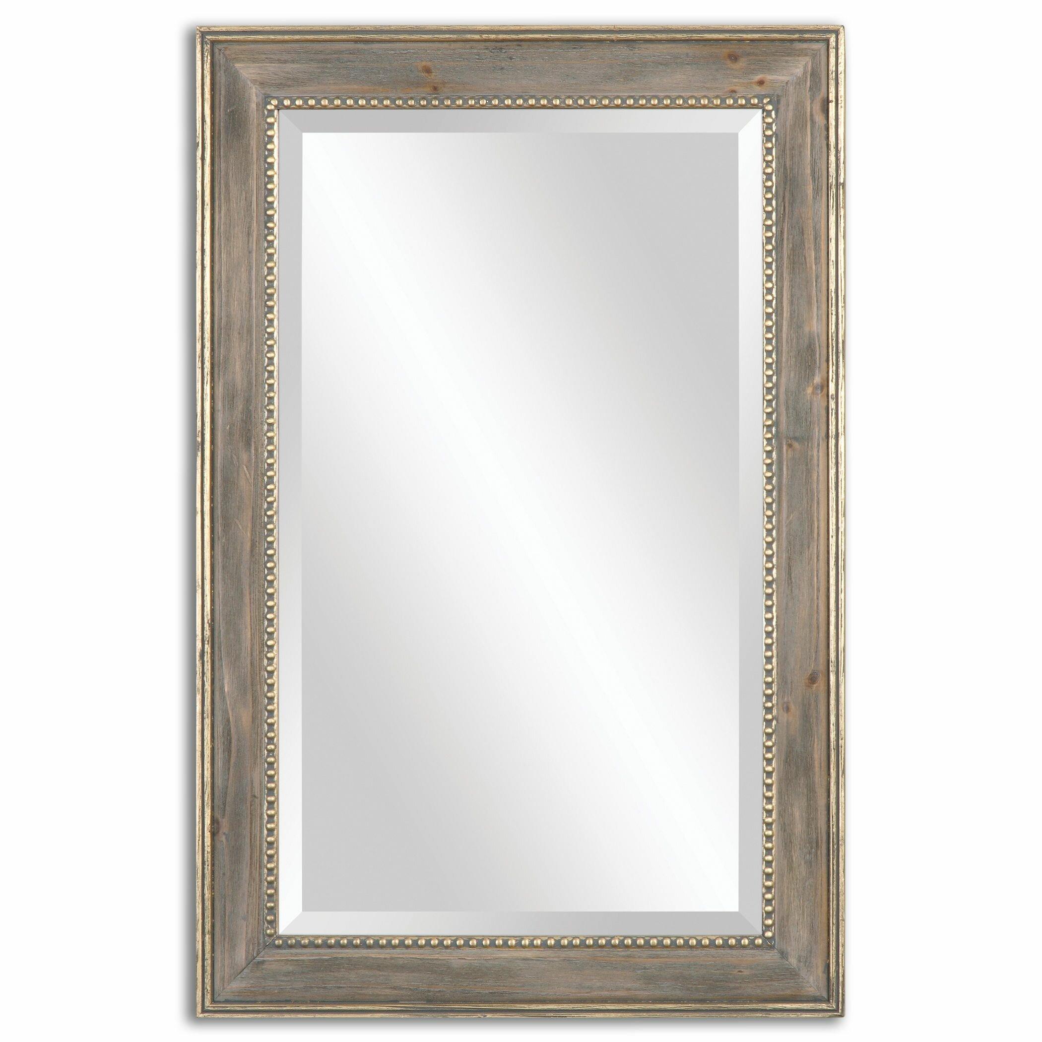 Darby home co rectangle mirror reviews wayfair for Rectangle mirror