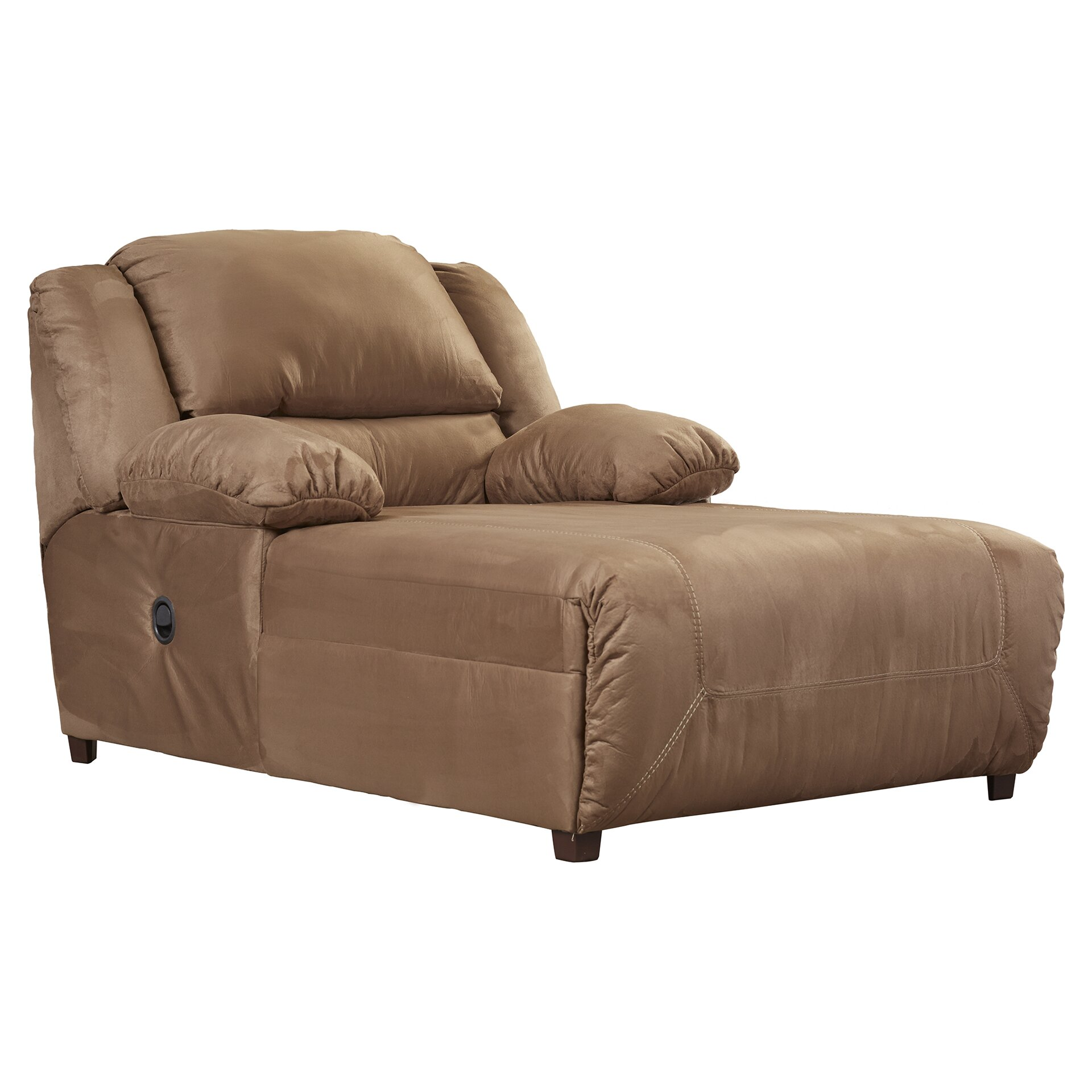Darby Home Co Jimenes Microfiber Chaise Recliner & Reviews
