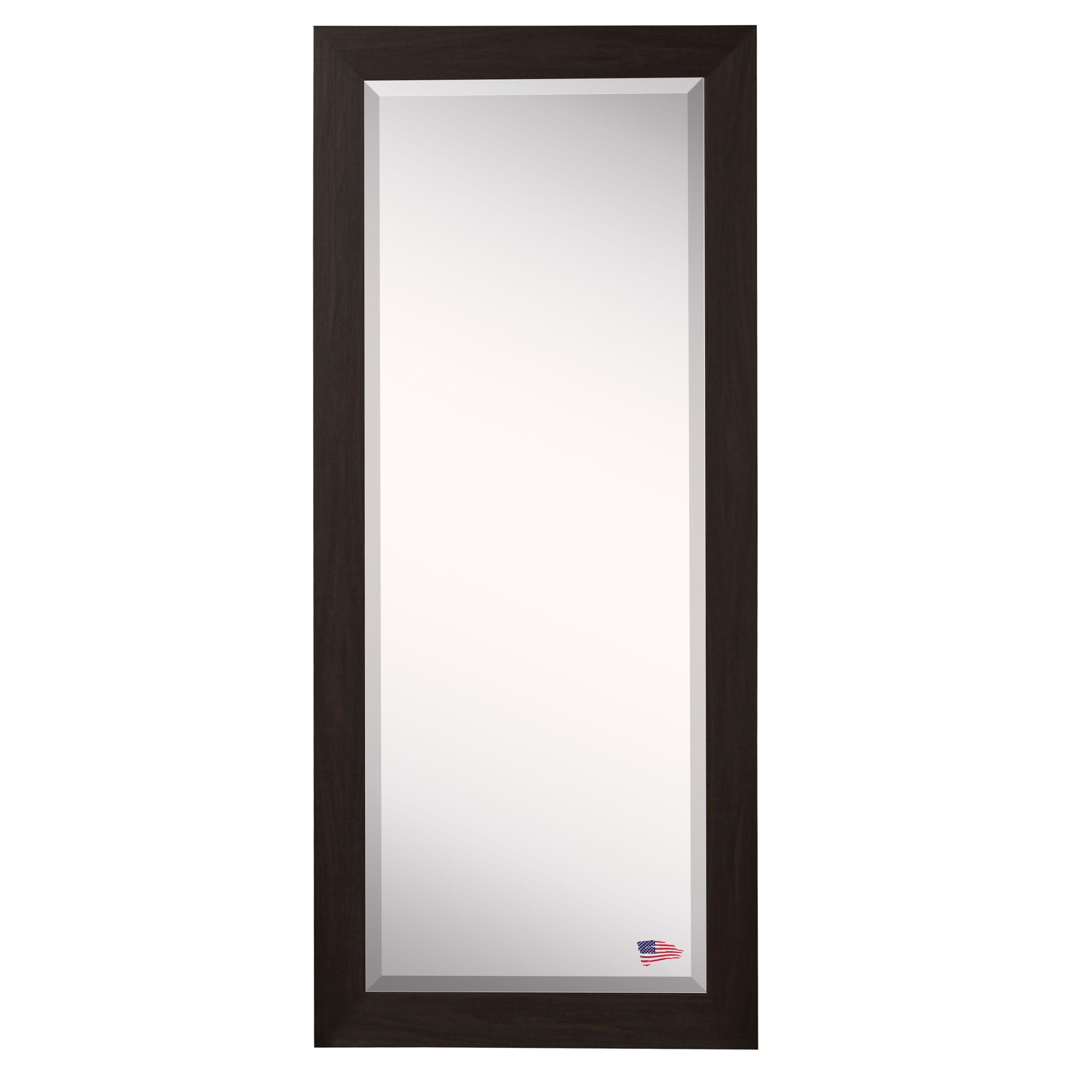 Darby home co extra tall floor mirror reviews wayfair for Tall glass mirror