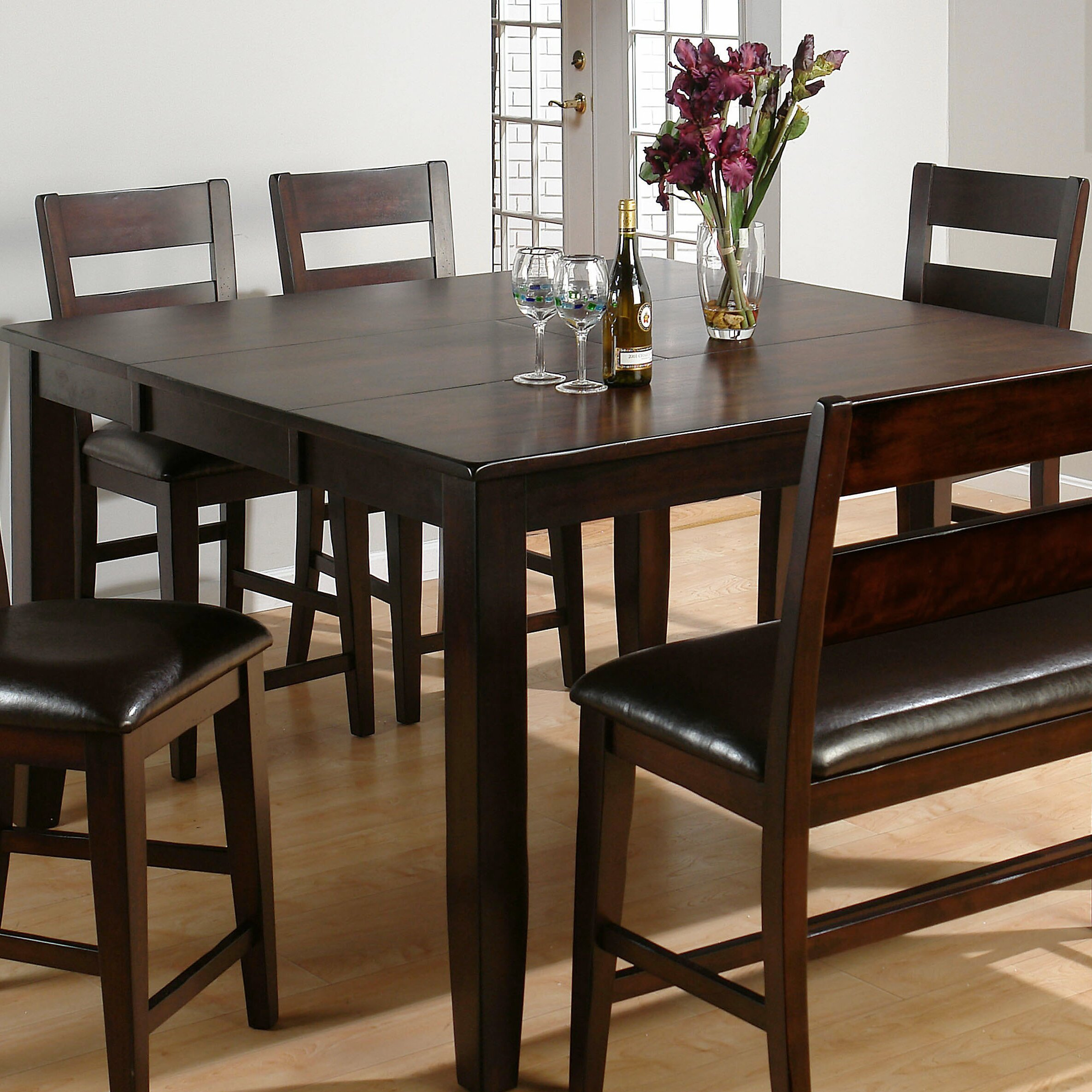 Darby Home Co Cutler Extendable Dining Table amp Reviews  : Darby Home Co25C225AE Cutler Extendable Dining Table from www.wayfair.ca size 2370 x 2370 jpeg 934kB