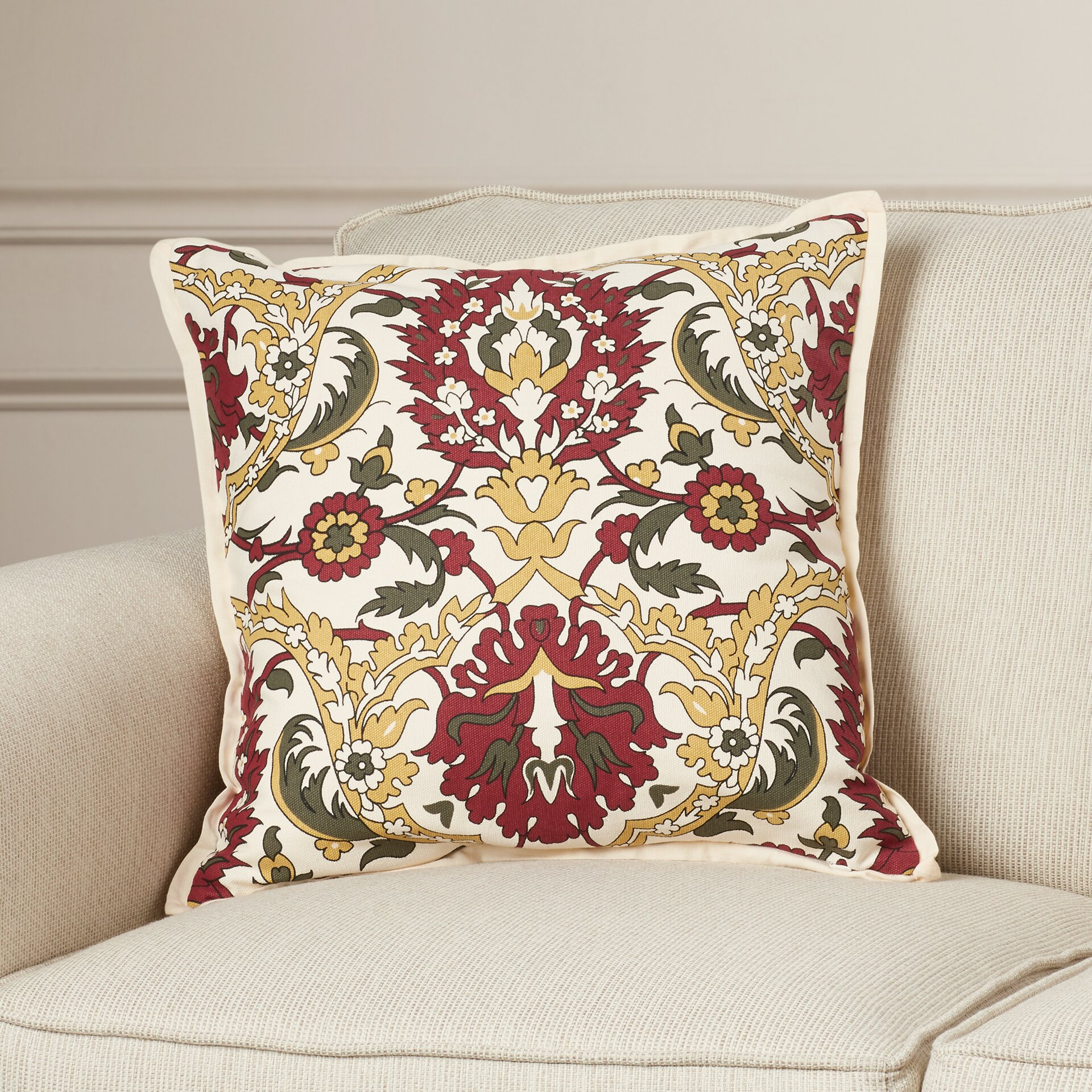 Darby Home Co Coeur Down Throw Pillow Wayfair