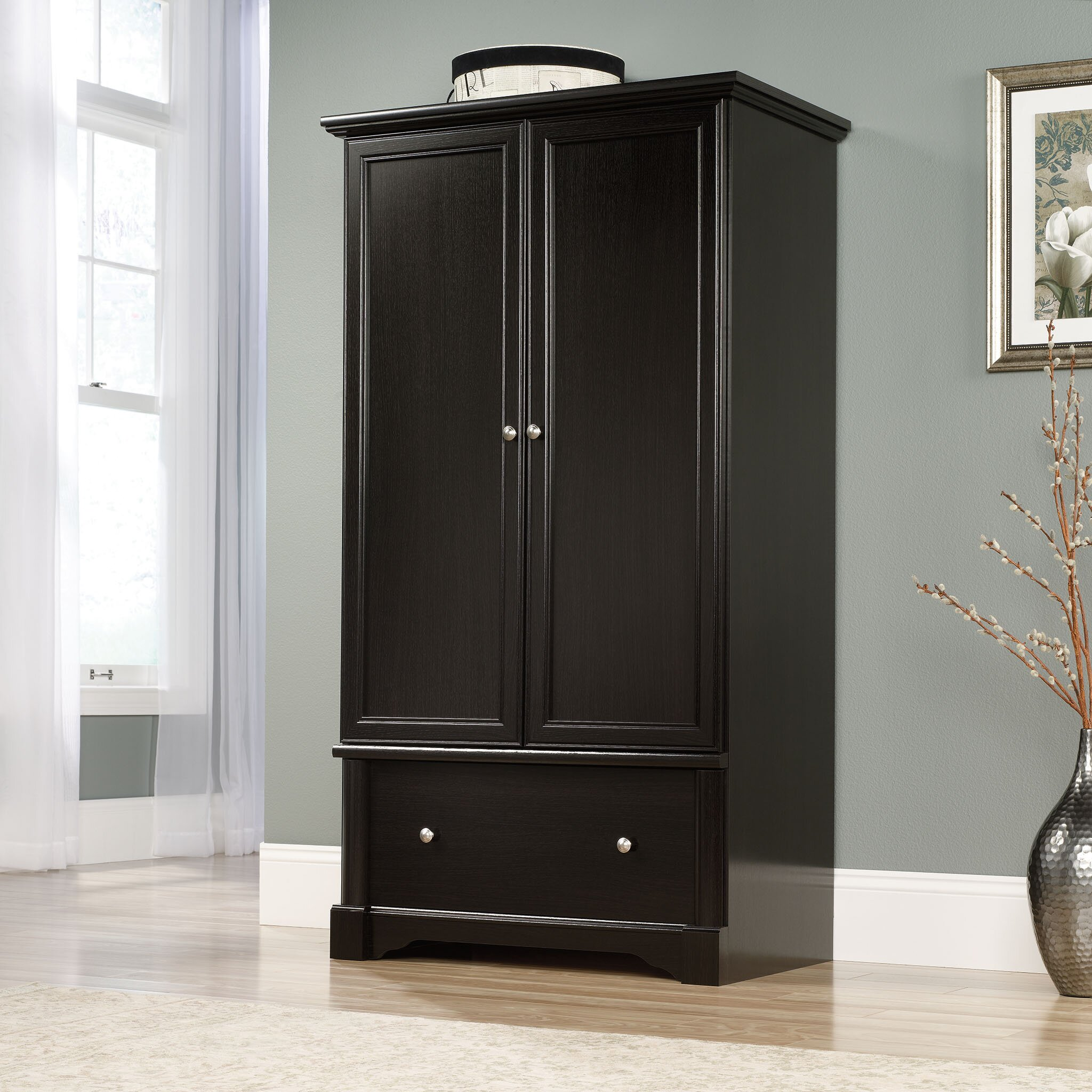 Darby Home Co Hennepin Armoire & Reviews