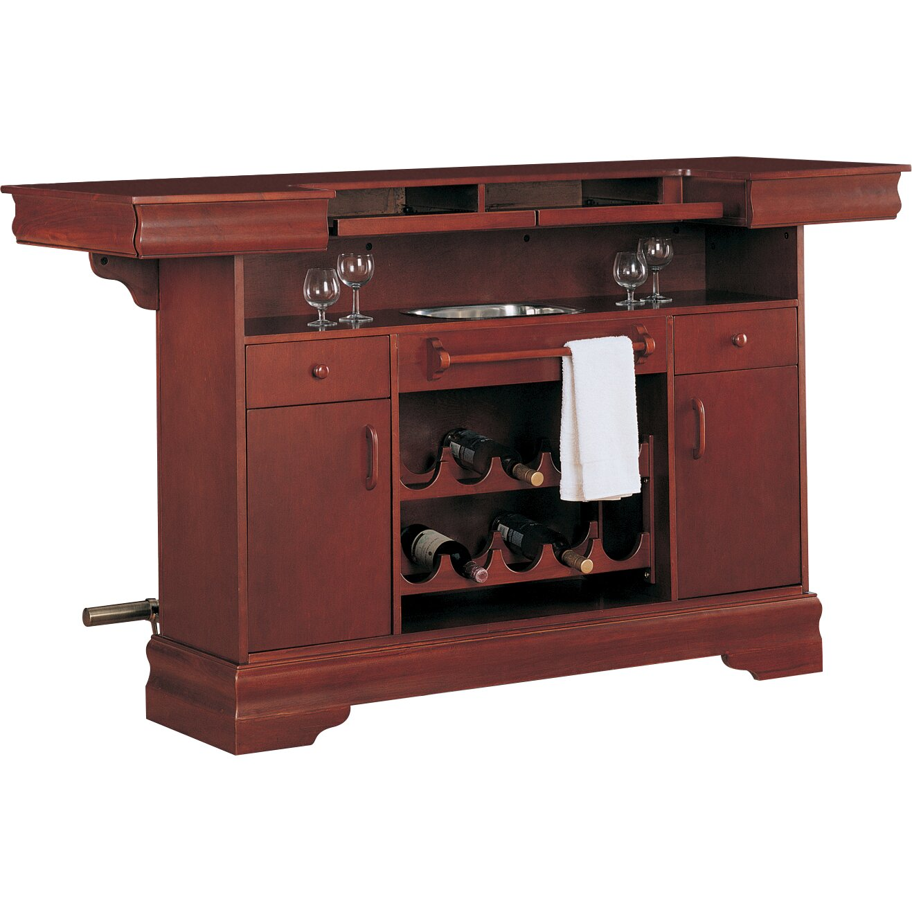 Darby home co shumaker home bar reviews wayfair Home pub bar furniture