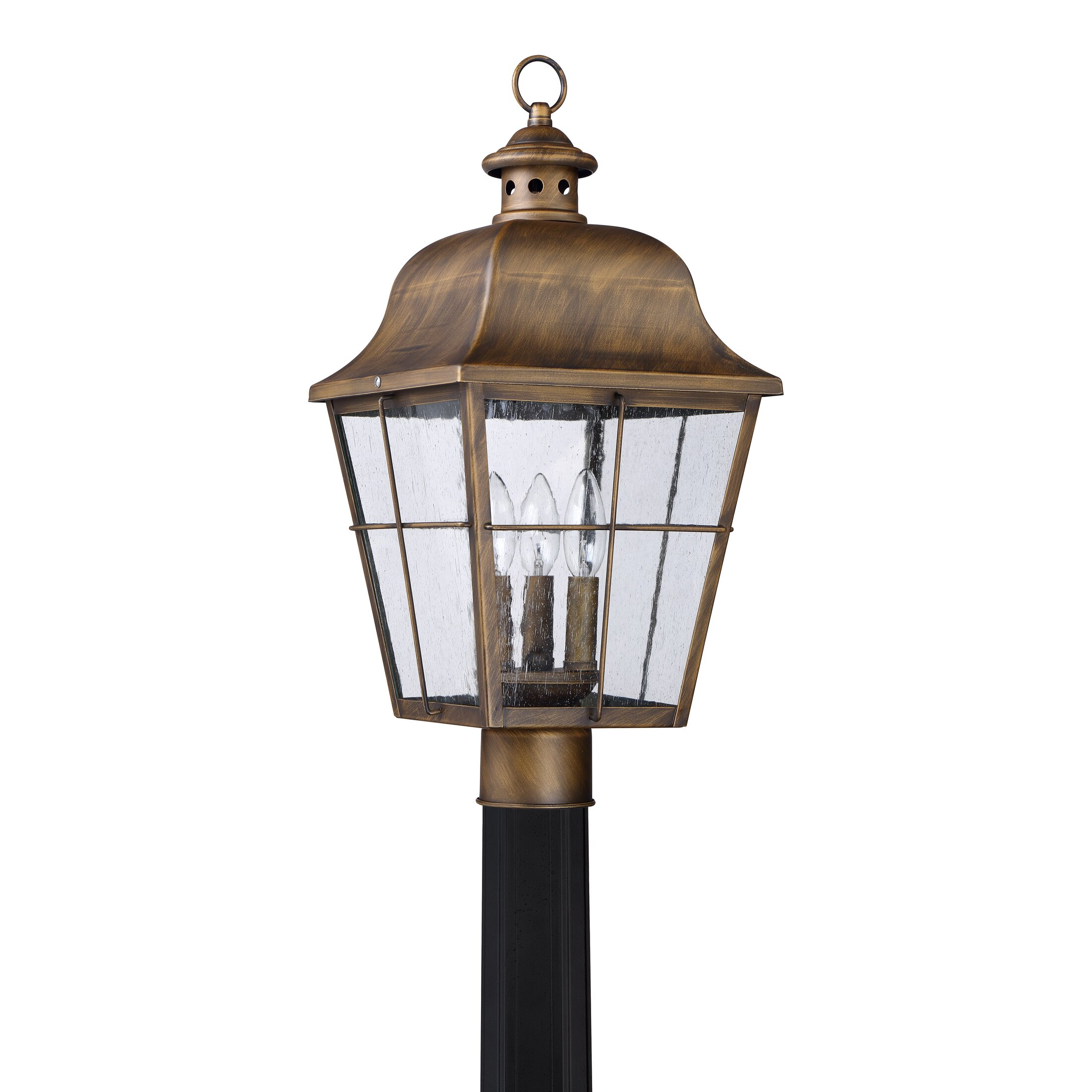 Darby Home Co Danielson 3 Light Outdoor Post Light