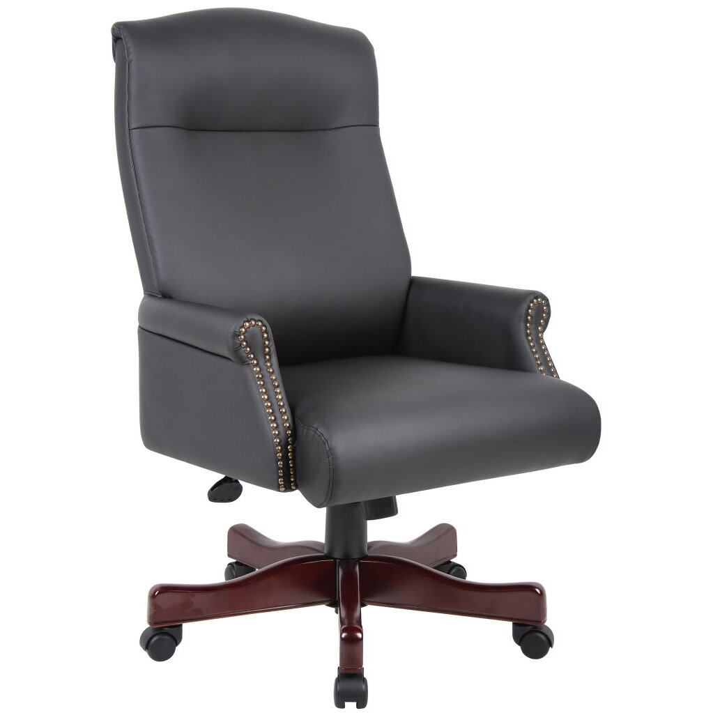 Darby Home Co Norden Adjustable High Back Office Chair Reviews Wayfair