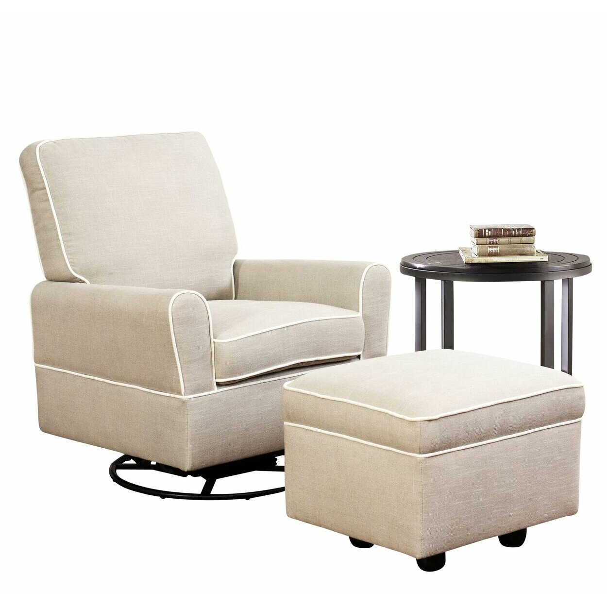 Darby Home Co Shelbyville Swivel Glider Recliner And