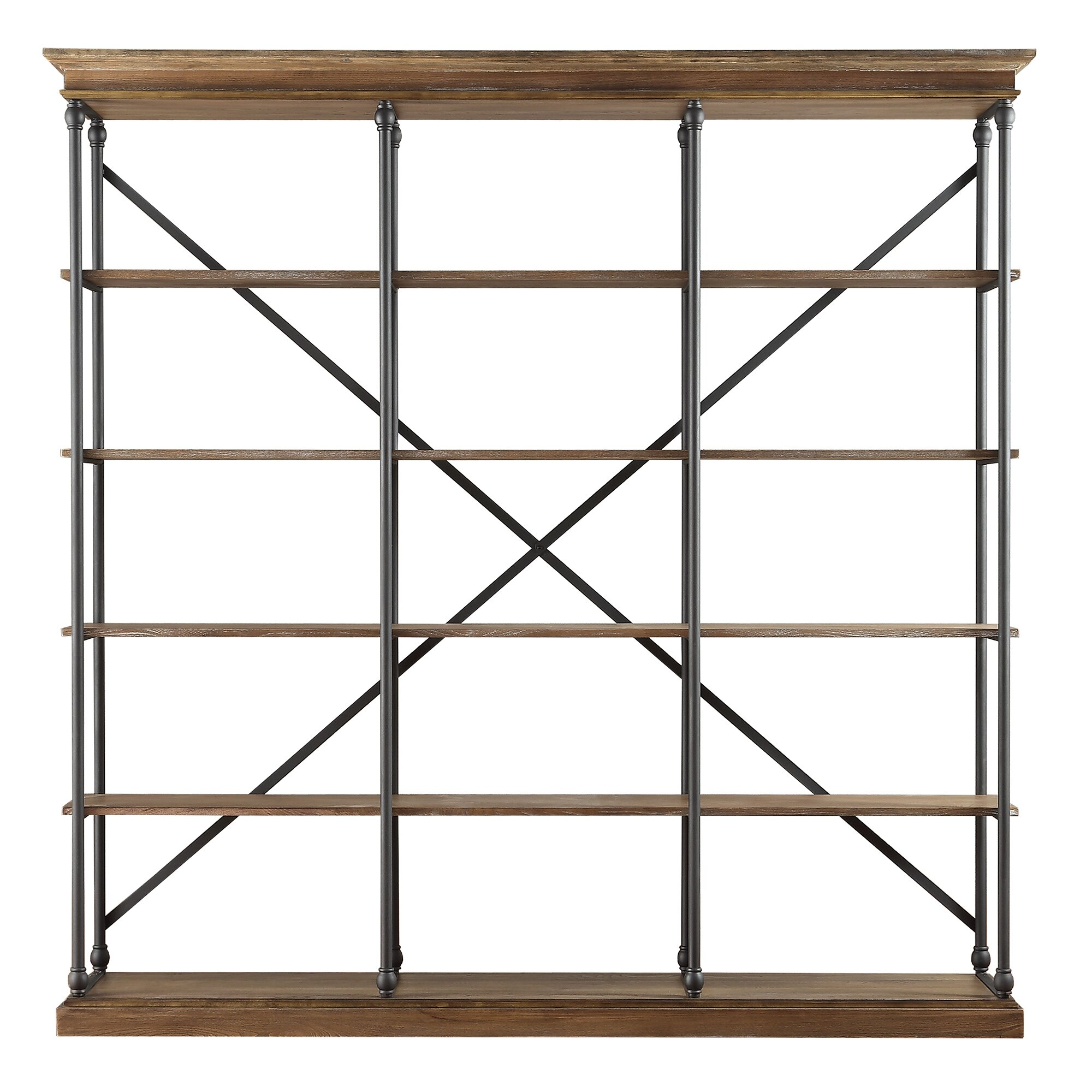 darby home co eastgate 84 etagere bookcase reviews. Black Bedroom Furniture Sets. Home Design Ideas