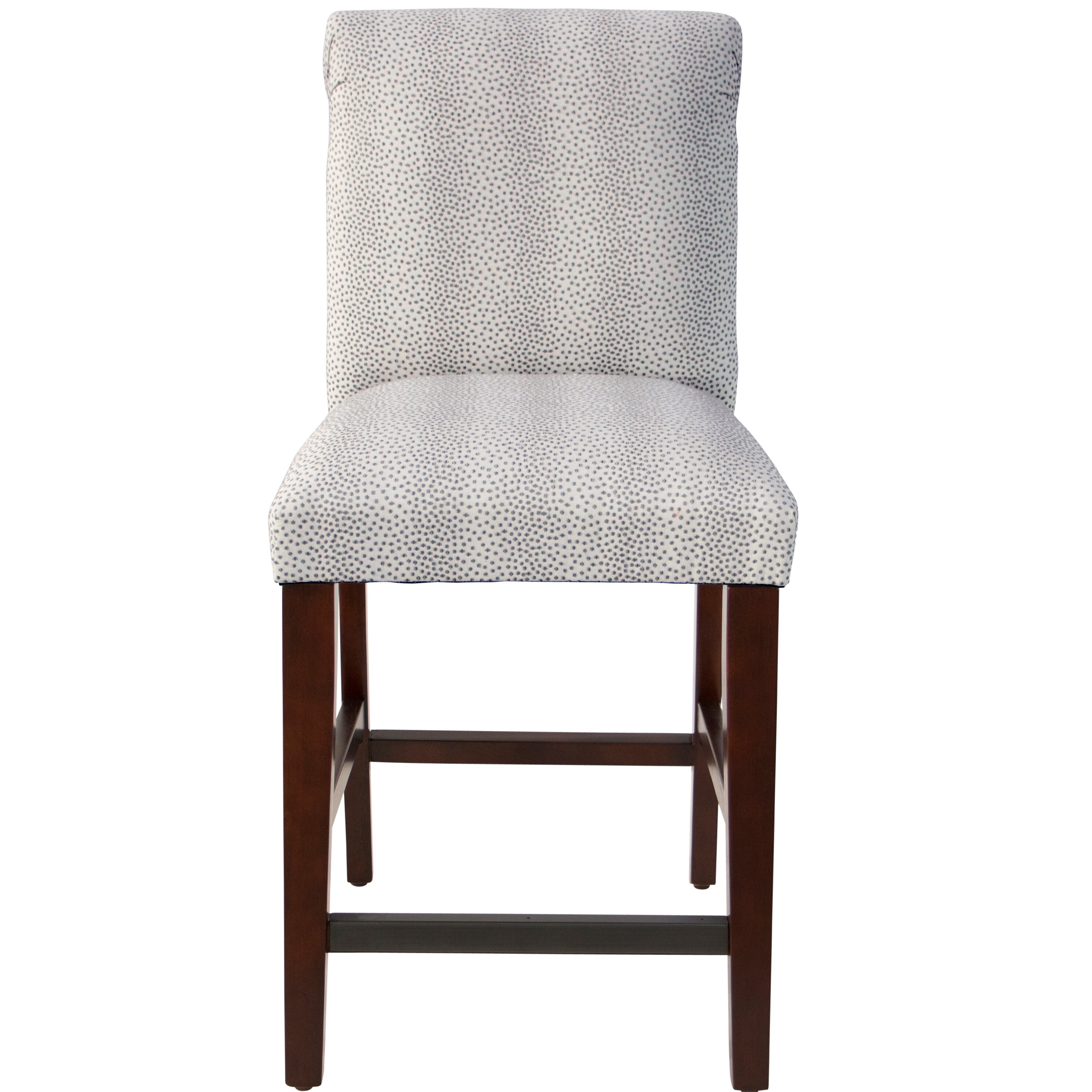Darby Home Co Cynthia Faux Fur Upholstered Bar Stool Wayfair