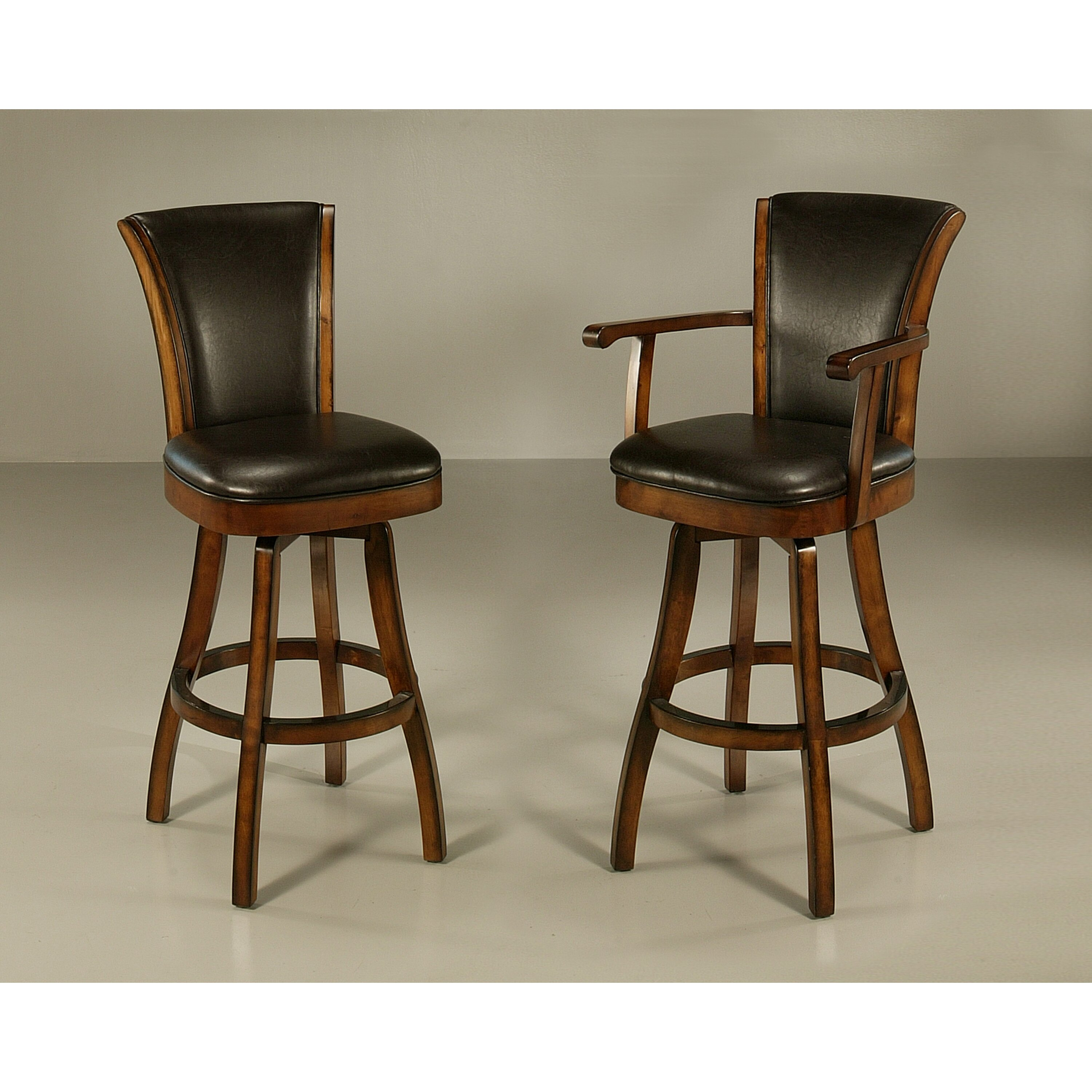 """Kitchen Bar Stools Swivel With Arms: Darby Home Co Glenwood 30"""" Swivel Bar Stool & Reviews"""