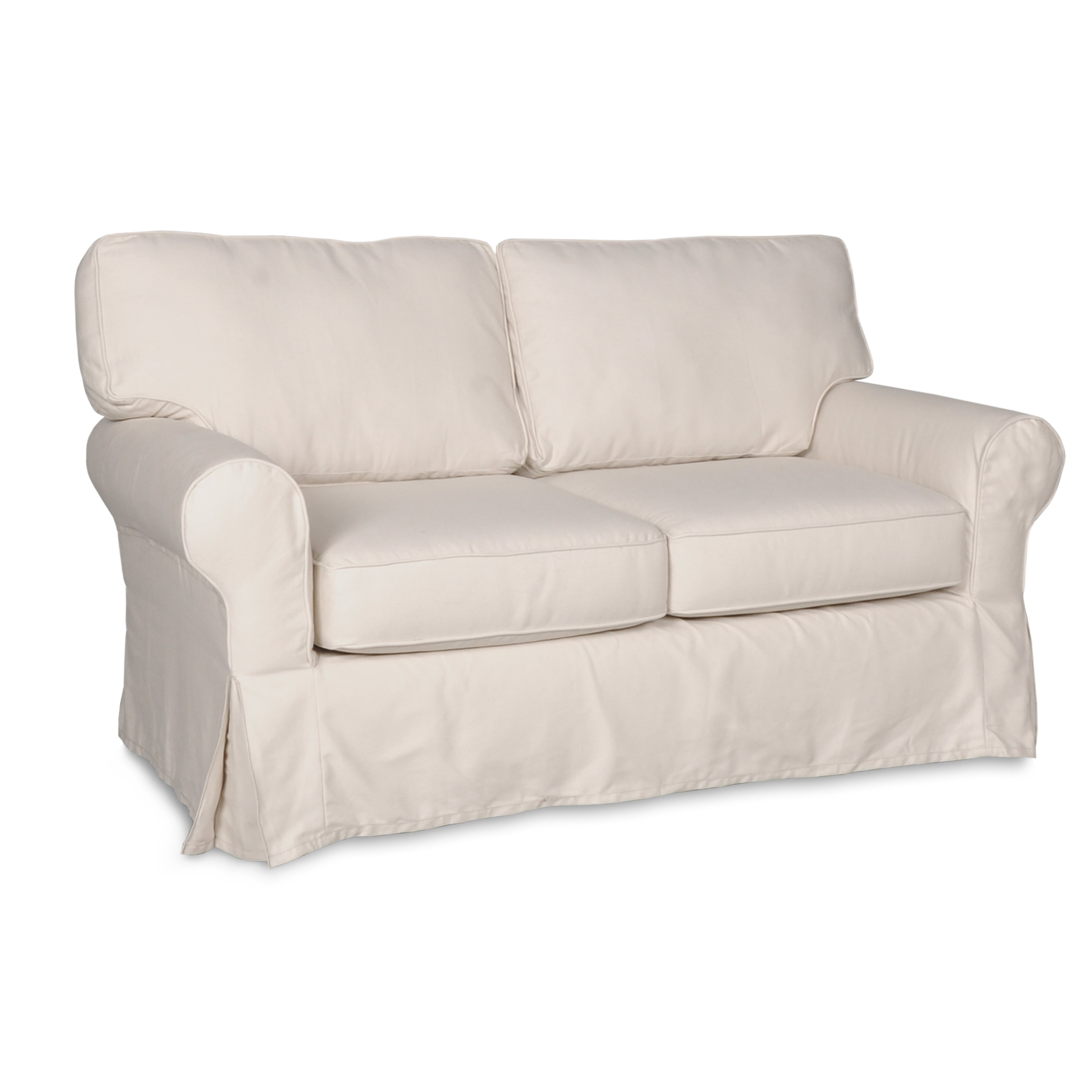 Darby home co loveseat slipcover reviews wayfair Loveseat slipcover