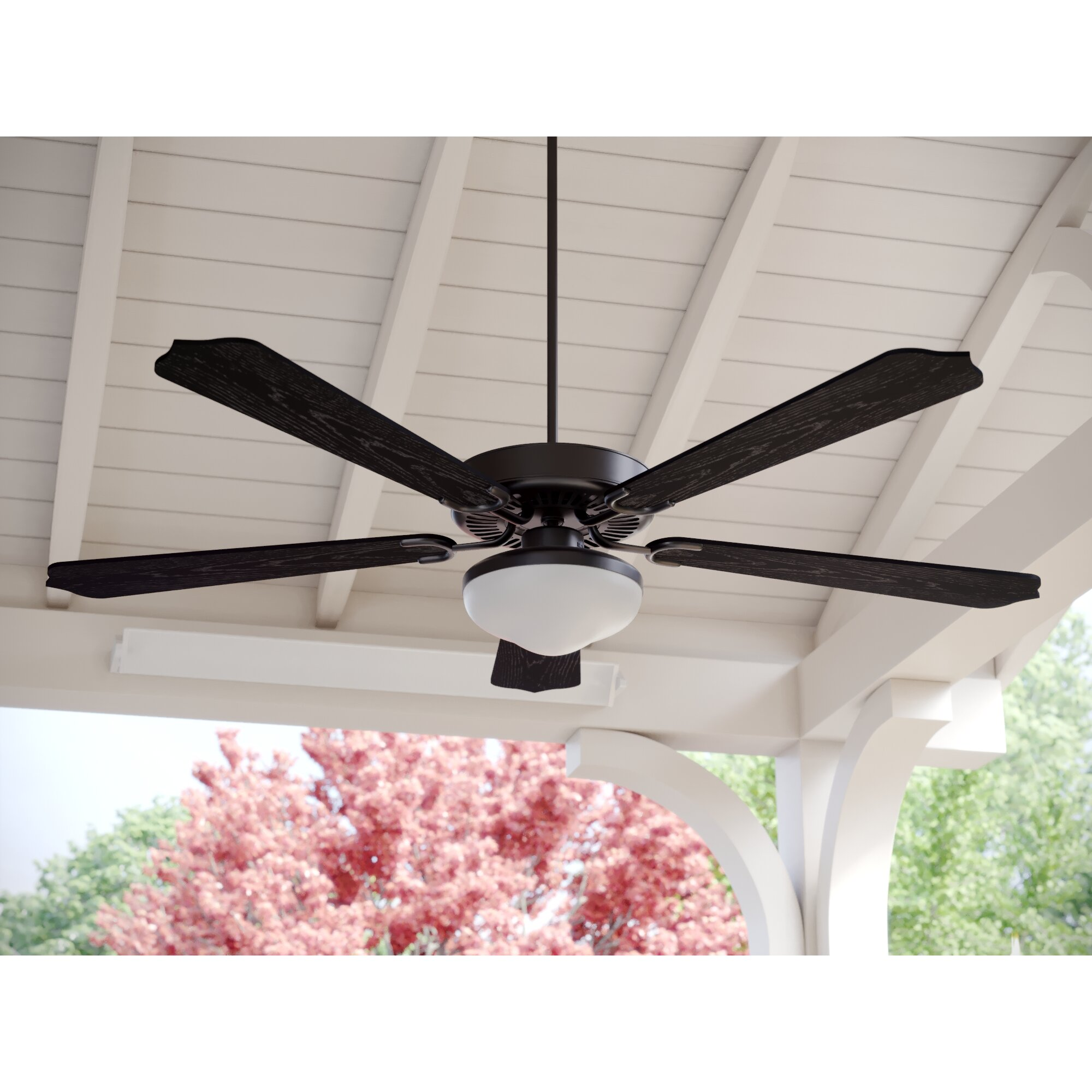Darby home co 52 sawyerville 5 blade outdoor ceiling fan Outdoor ceiling fan sale