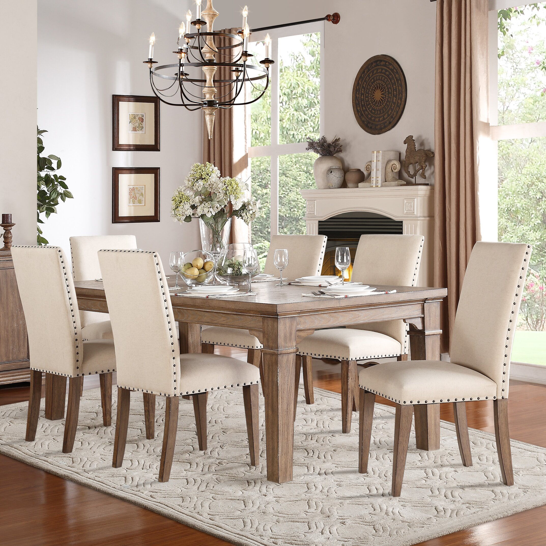 Darby Home Co Wilmington Extendable Dining Table amp Reviews  : Darby Home Co25C225AE Wilmington Extendable Dining Table from www.wayfair.com size 2146 x 2146 jpeg 1367kB