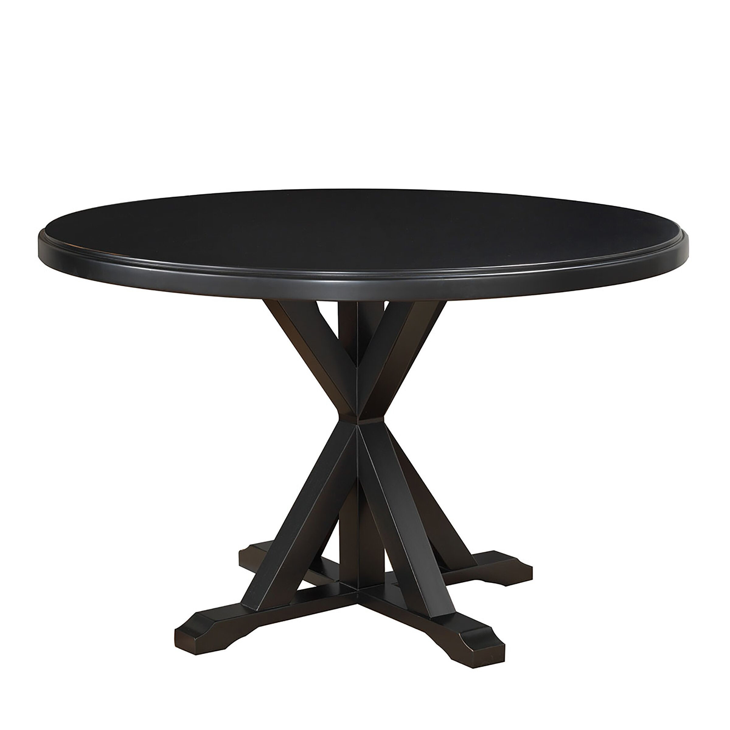 Alcott hill fanning x base dining table reviews wayfair for Table x reviews