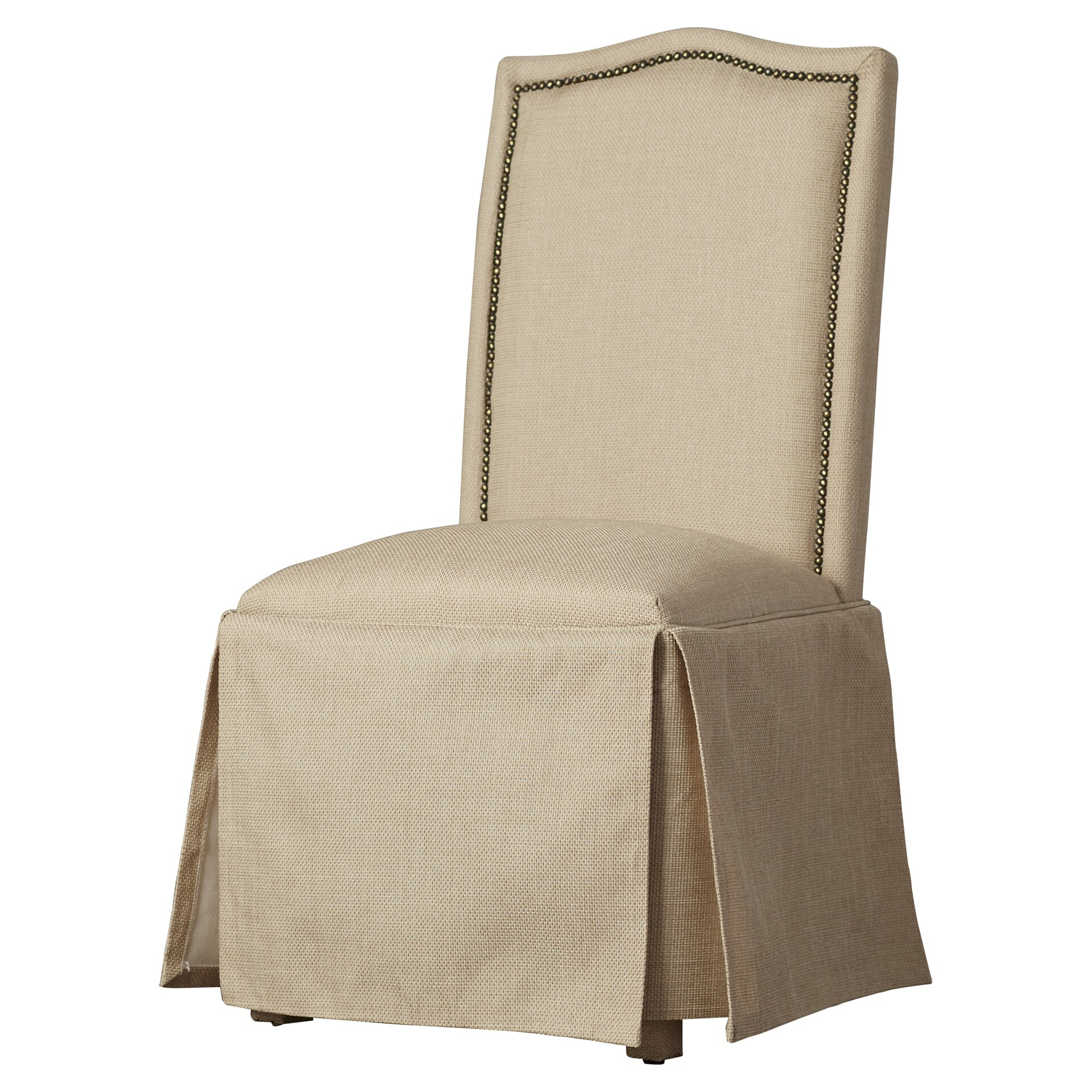 Alcott Hill Fredericksburg Skirted Parson Chair & Reviews | Wayfair