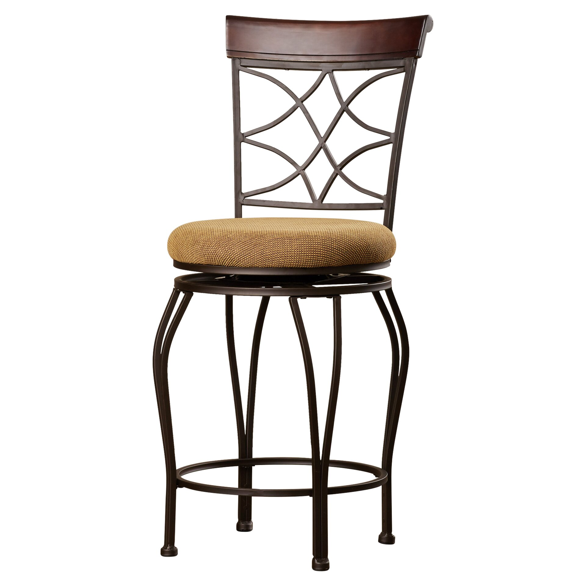 hill reading 24 swivel bar stool with cushion reviews wayfa