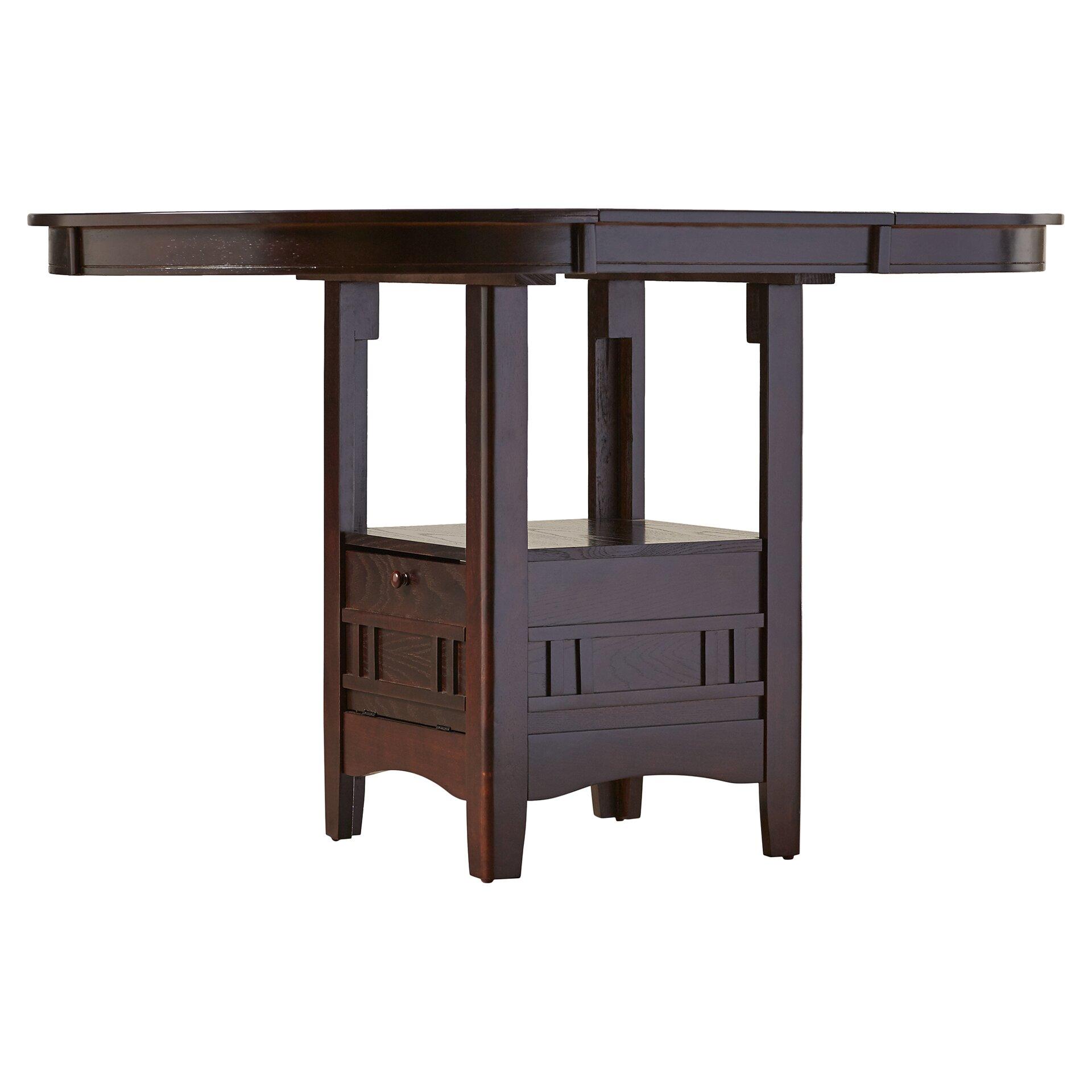 Alcott Hill Norwalk Counter Height Extendable Dining Table  : Alcott Hill25C225AE Norwalk Counter Height Extendable Dining Table from www.wayfair.com size 1920 x 1920 jpeg 213kB