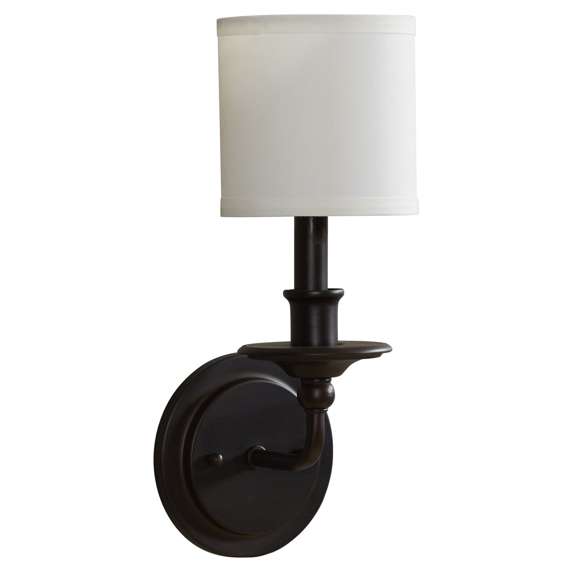 Wall Sconce With Magnifying Glass : Alcott Hill Holes 1 Light Wall Sconce & Reviews Wayfair
