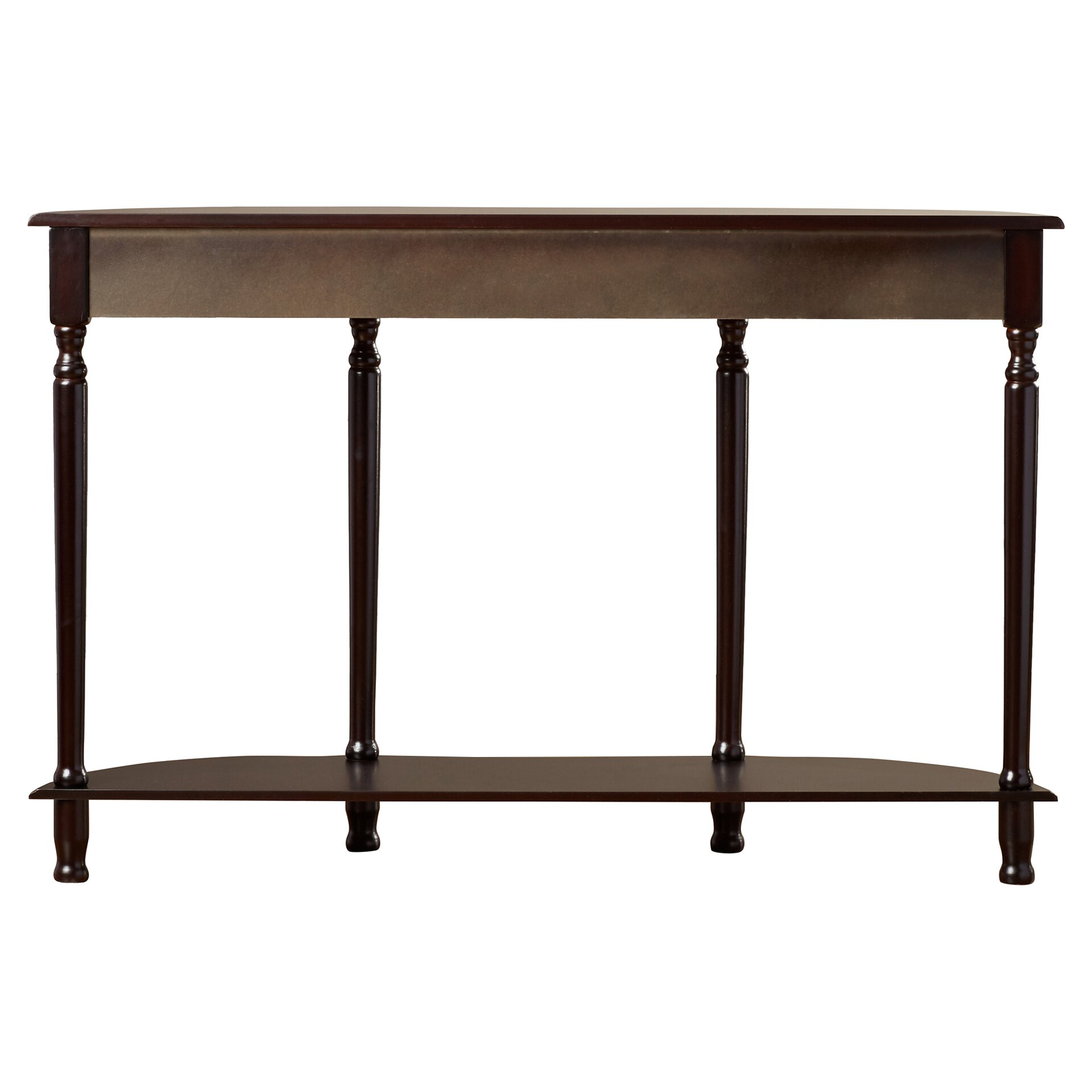 Alcott Hill Abbottsmoor Console Table With Turned Legs