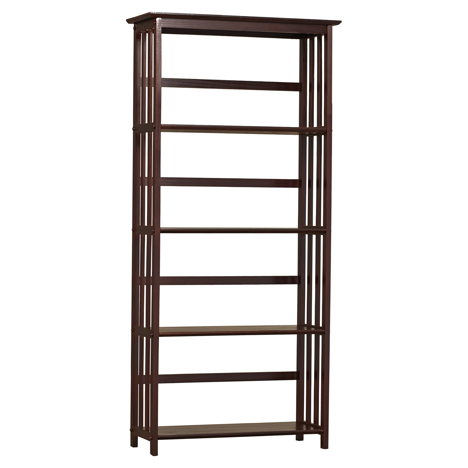 alcott hill 63 etagere bookcase reviews wayfair. Black Bedroom Furniture Sets. Home Design Ideas