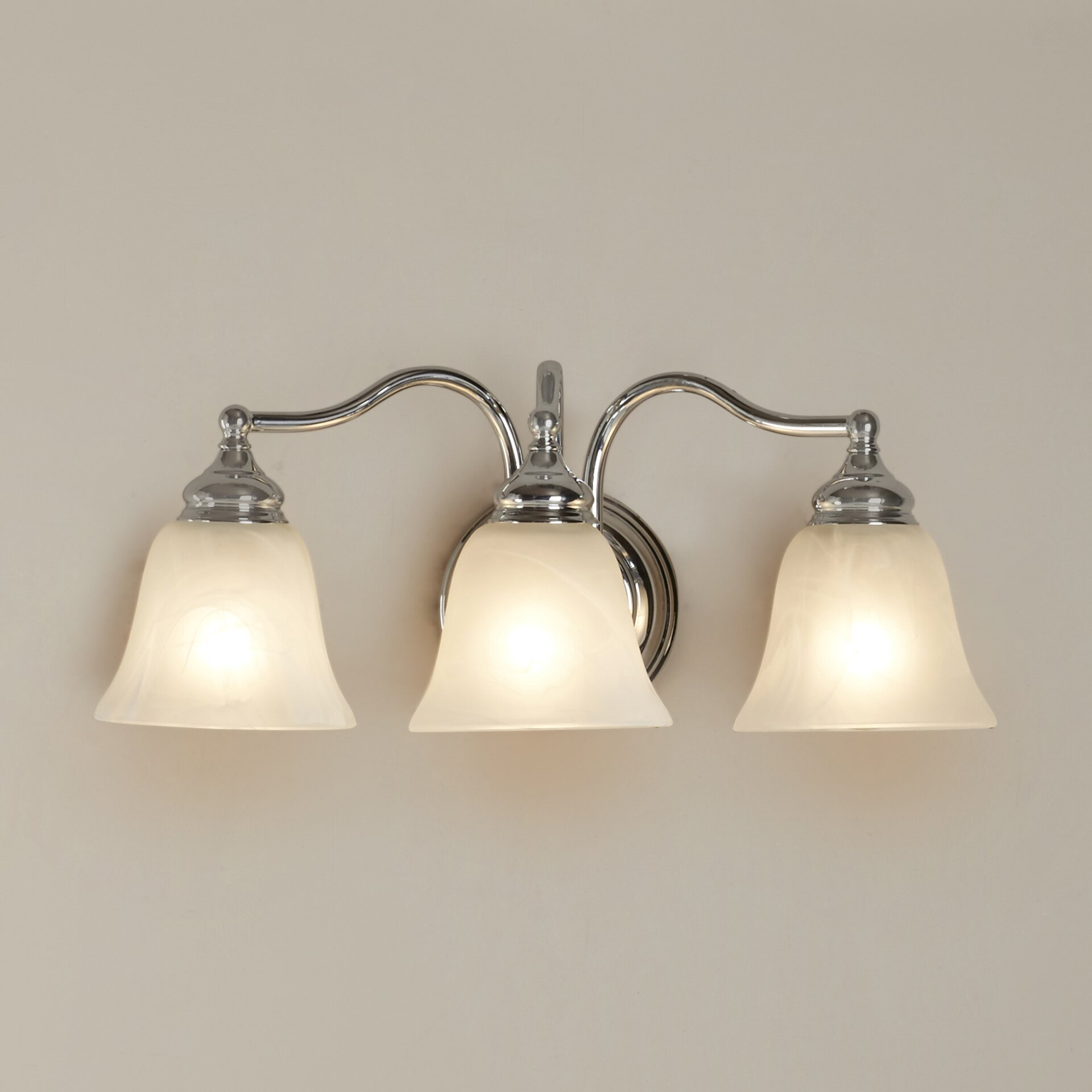 Alcott Hill Elys 3 Light Vanity Light & Reviews