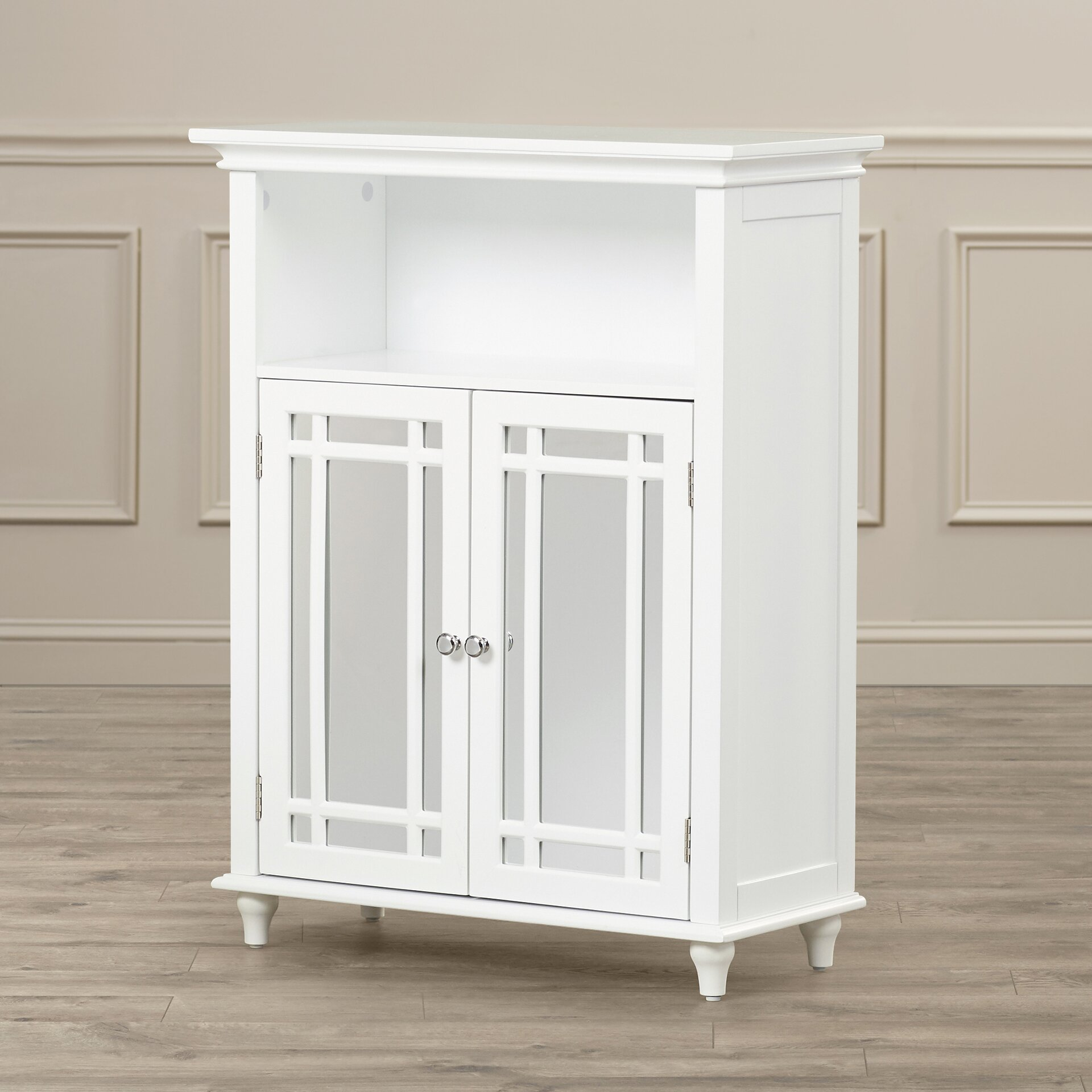 """Wayfair Free Standing Kitchen Cabinets: Alcott Hill Tully 26.5"""" X 34"""" Free Standing Cabinet"""