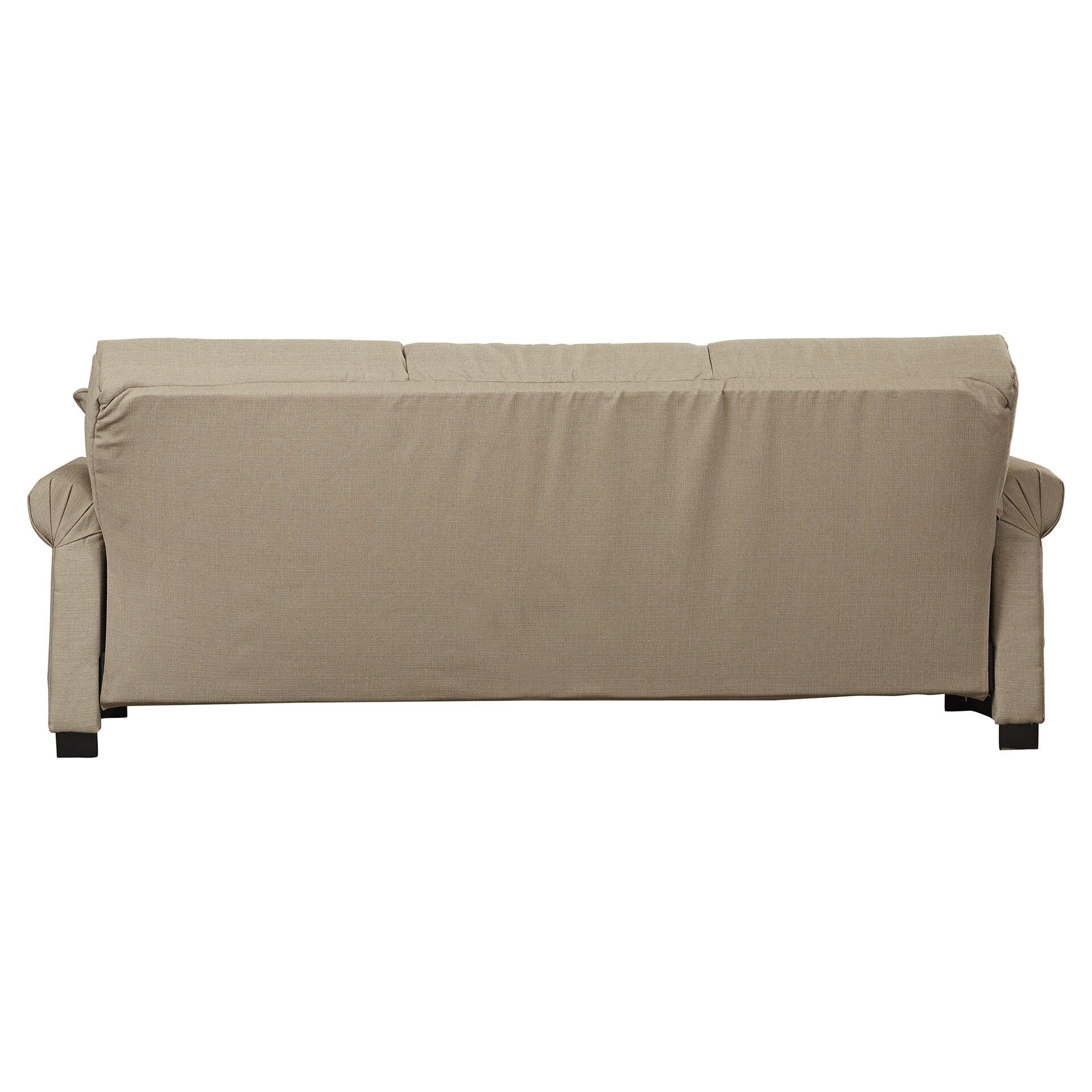 Futon Sofa Sleeper Alcott Hill Lawrence Full Convertible Upholstered Sleeper ...