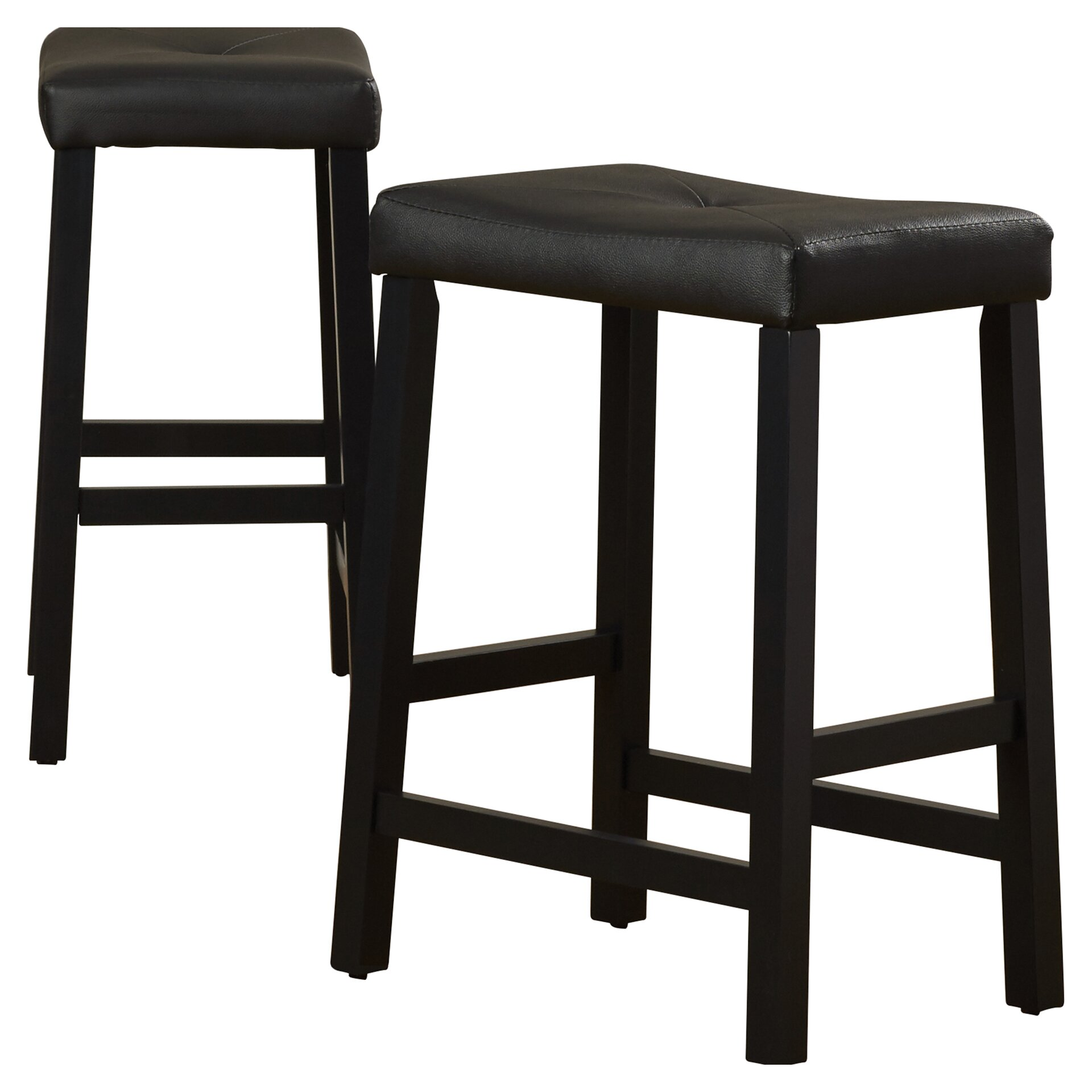 Alcott Hill Newark 24 Quot Bar Stool With Cushion Amp Reviews