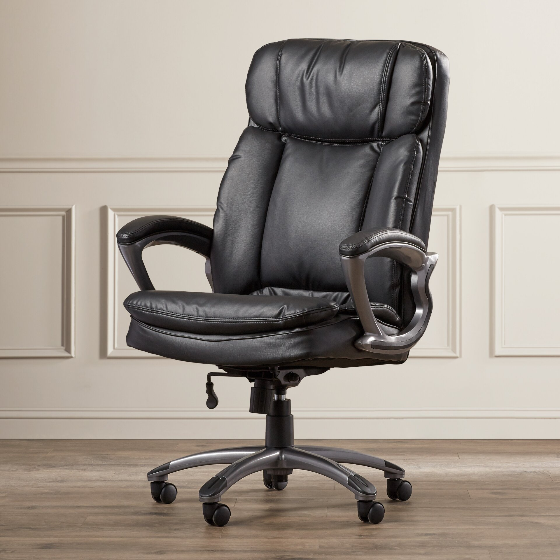 Serta at Home Big and Tall High-Back Leather Executive ...