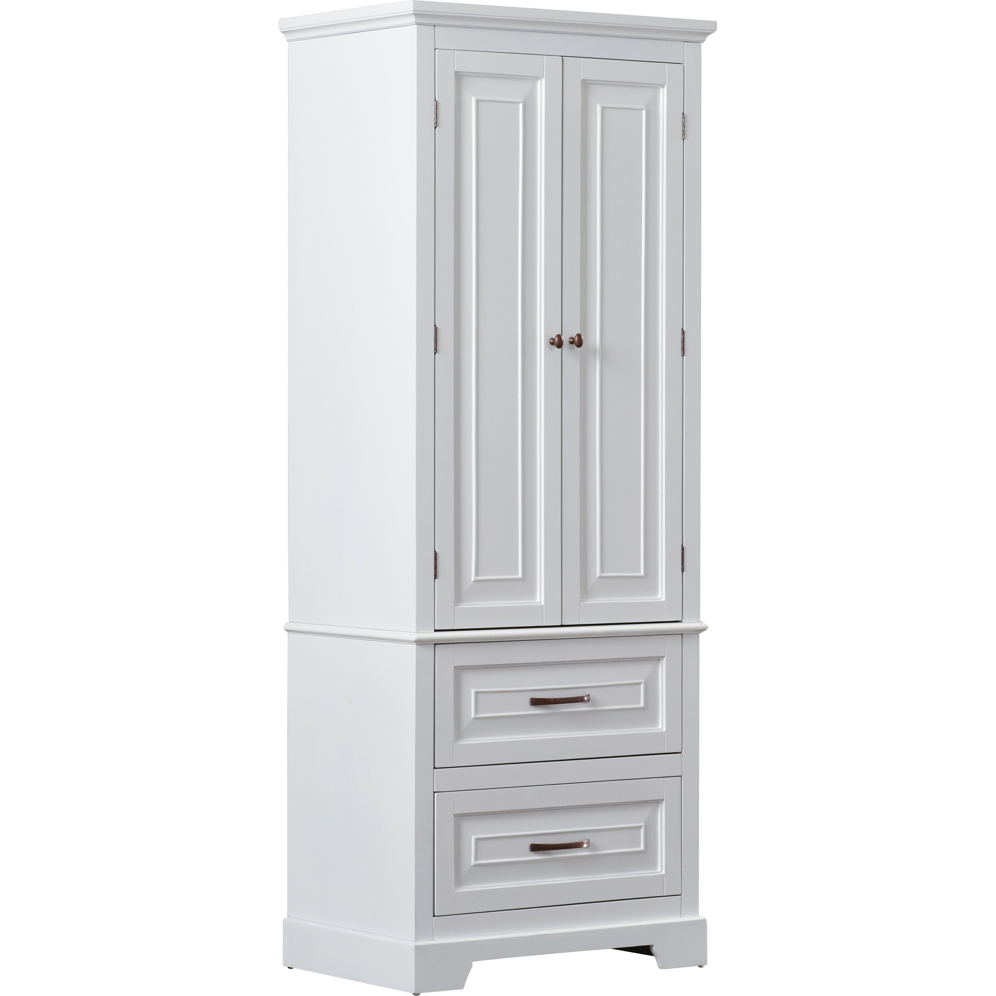 Alcott hill prater 24 x 62 free standing cabinet for Wayfair kitchen cabinets