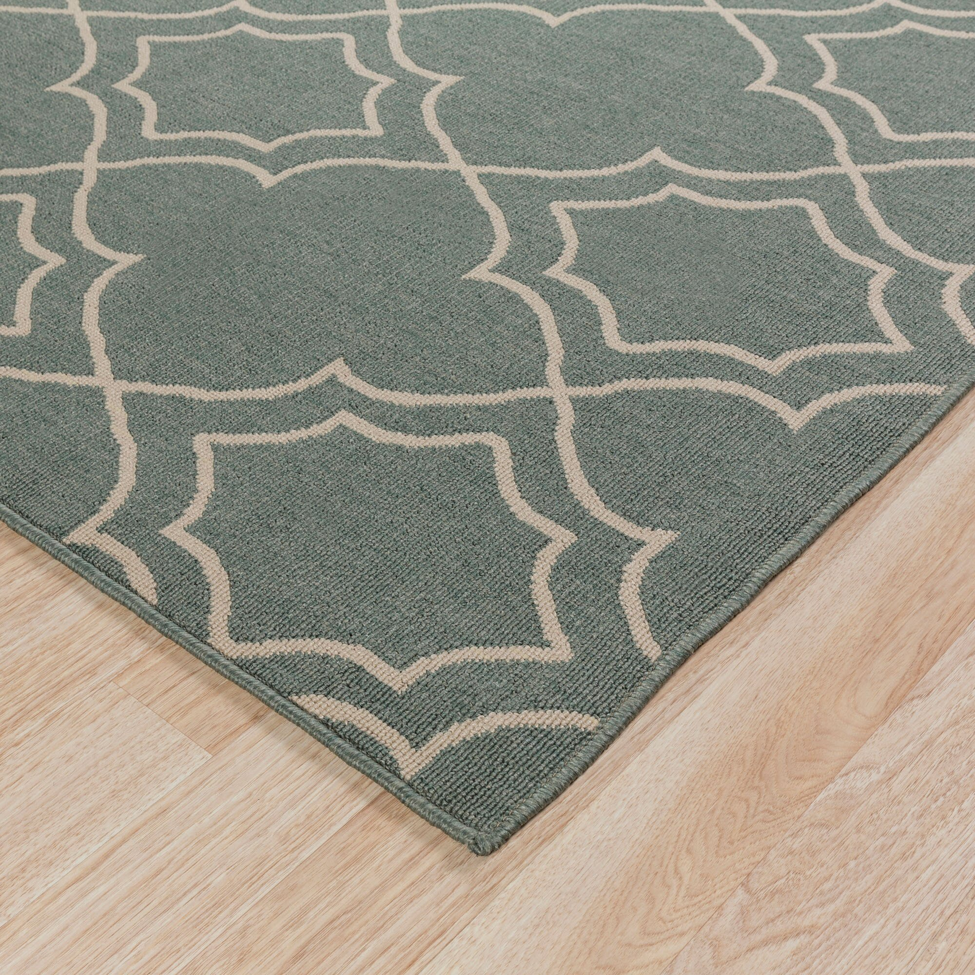 Alcott hill amato green indoor outdoor area rug reviews wayfair - Moderne trappenhelling ...