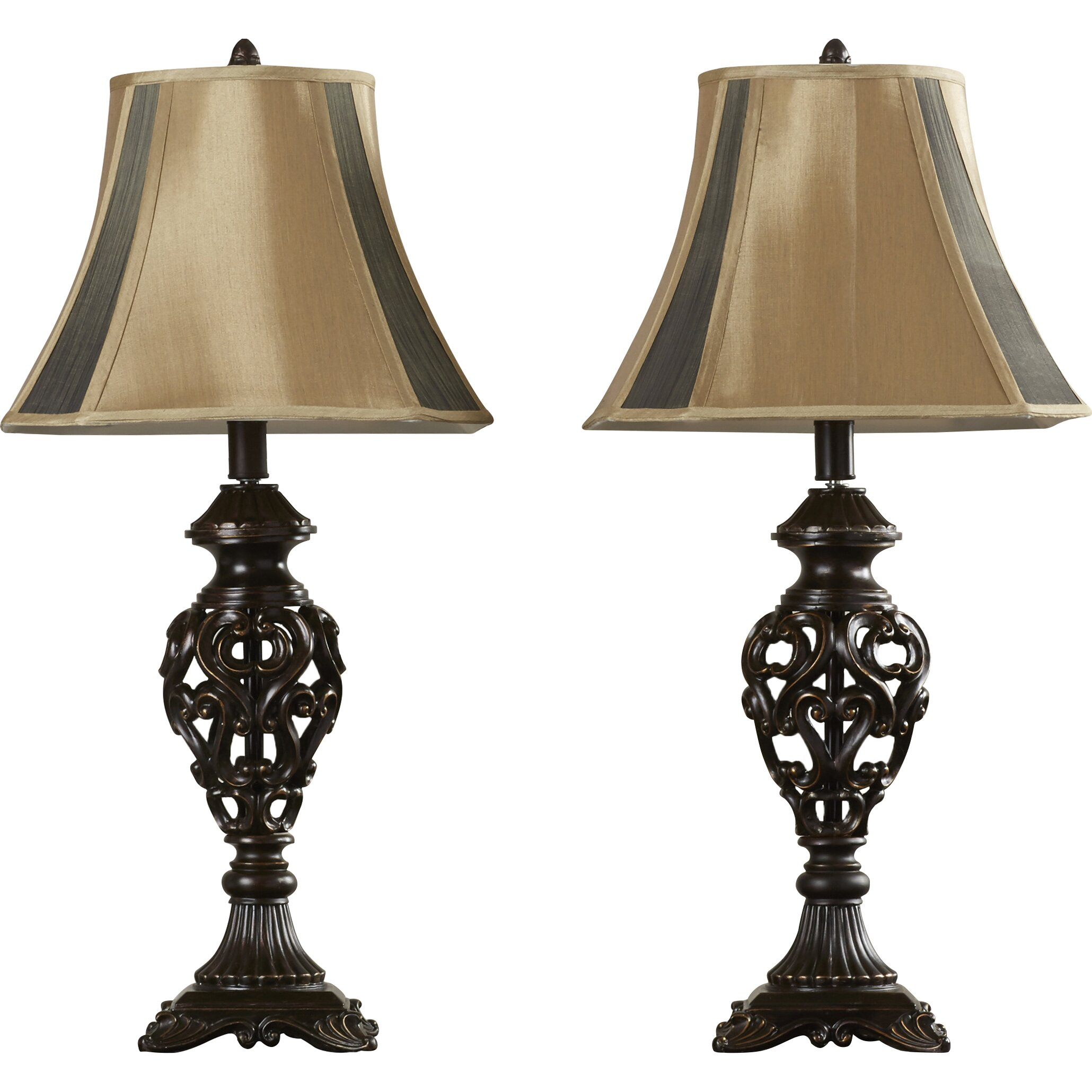 alcott hill lynchburg 32 table lamps set of 2 reviews wayfair. Black Bedroom Furniture Sets. Home Design Ideas