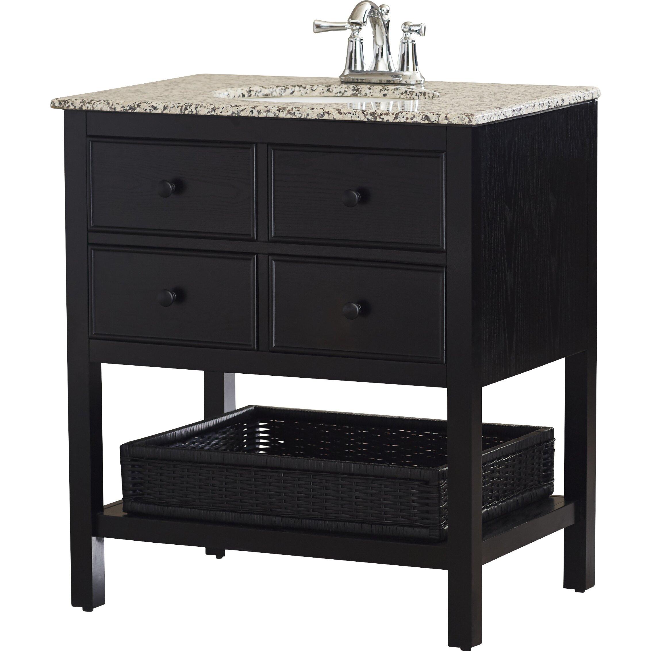 Alcott Hill Gettysburg 30\u0026quot; Single Bathroom Vanity Set \u0026 Reviews  Wayfair