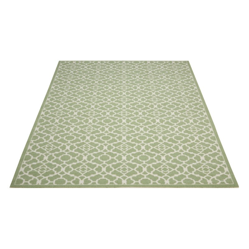 Alcott Hill Tarlton Apple Green Area Rug