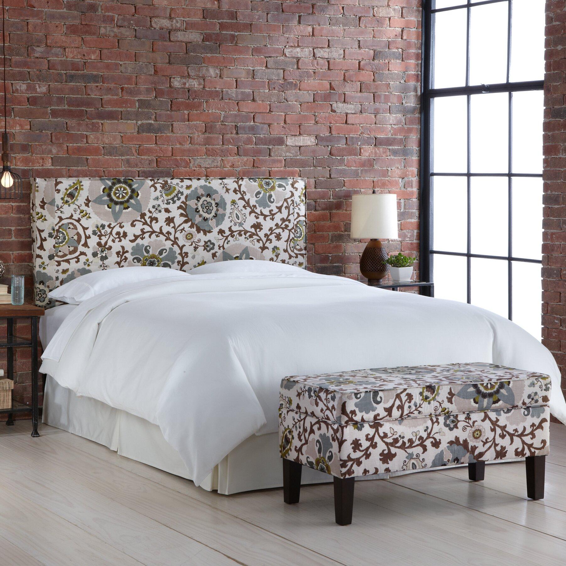 Alcott Hill Thurston Upholstered Storage Bedroom Bench ...