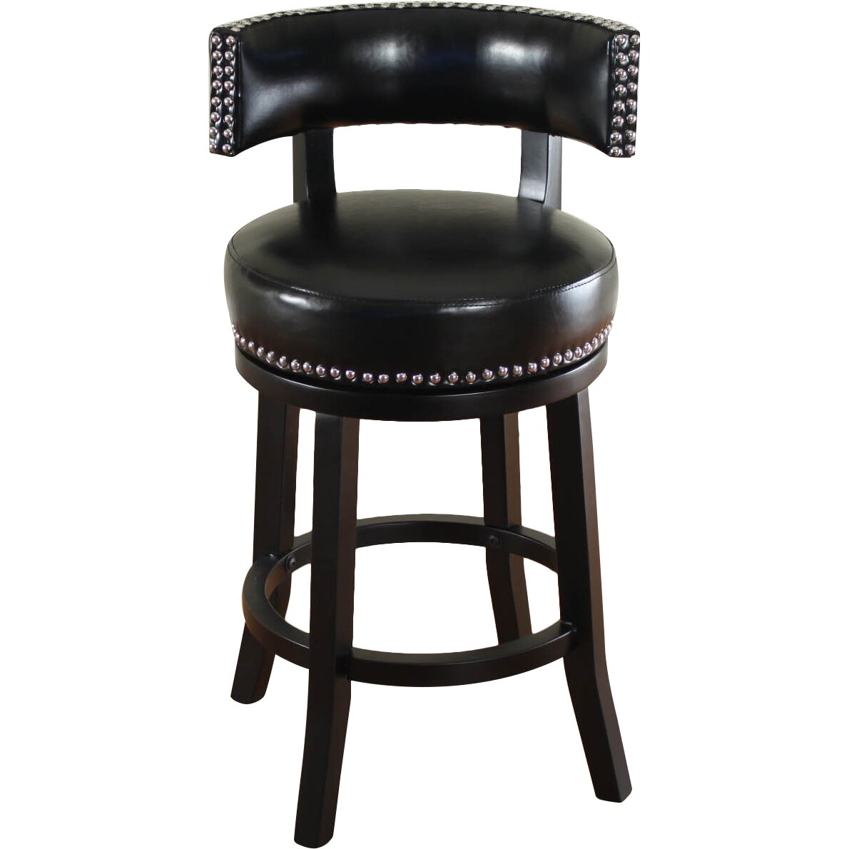Alcott Hill Cyril 26 Swivel Bar Stool With Cushion Reviews Wayfair