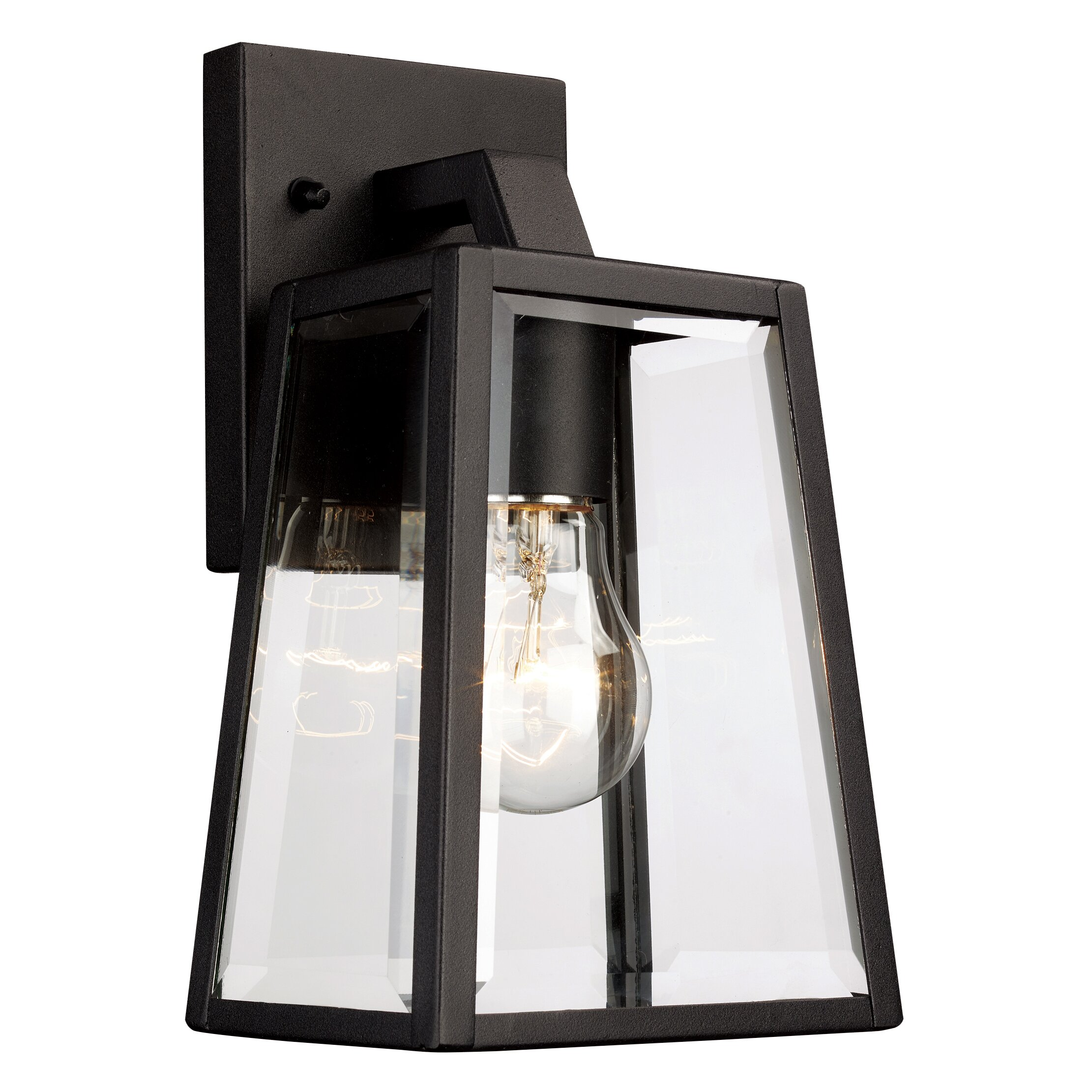 Alcott Hill Sowders 1 Light Outdoor Wall Lantern & Reviews Wayfair
