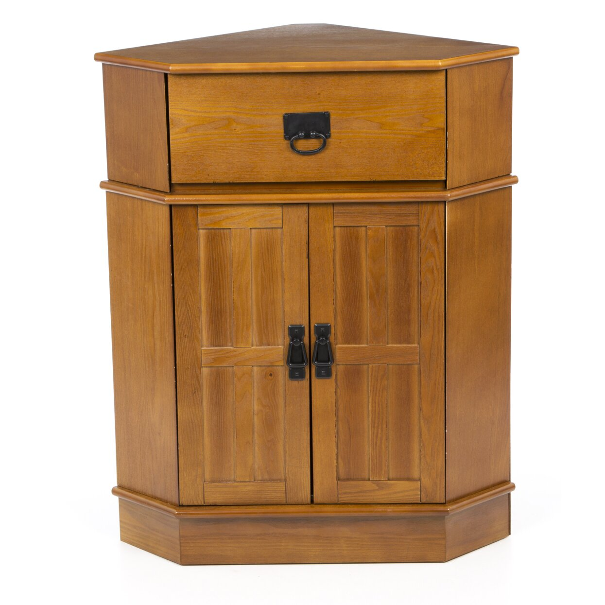 Charlton home whitaker 2 door corner cabinet reviews for Storage charlton