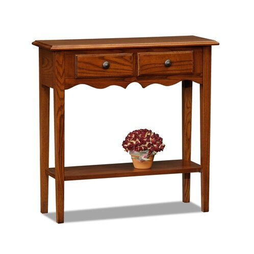 charlton home apple valley petite console table reviews. Black Bedroom Furniture Sets. Home Design Ideas