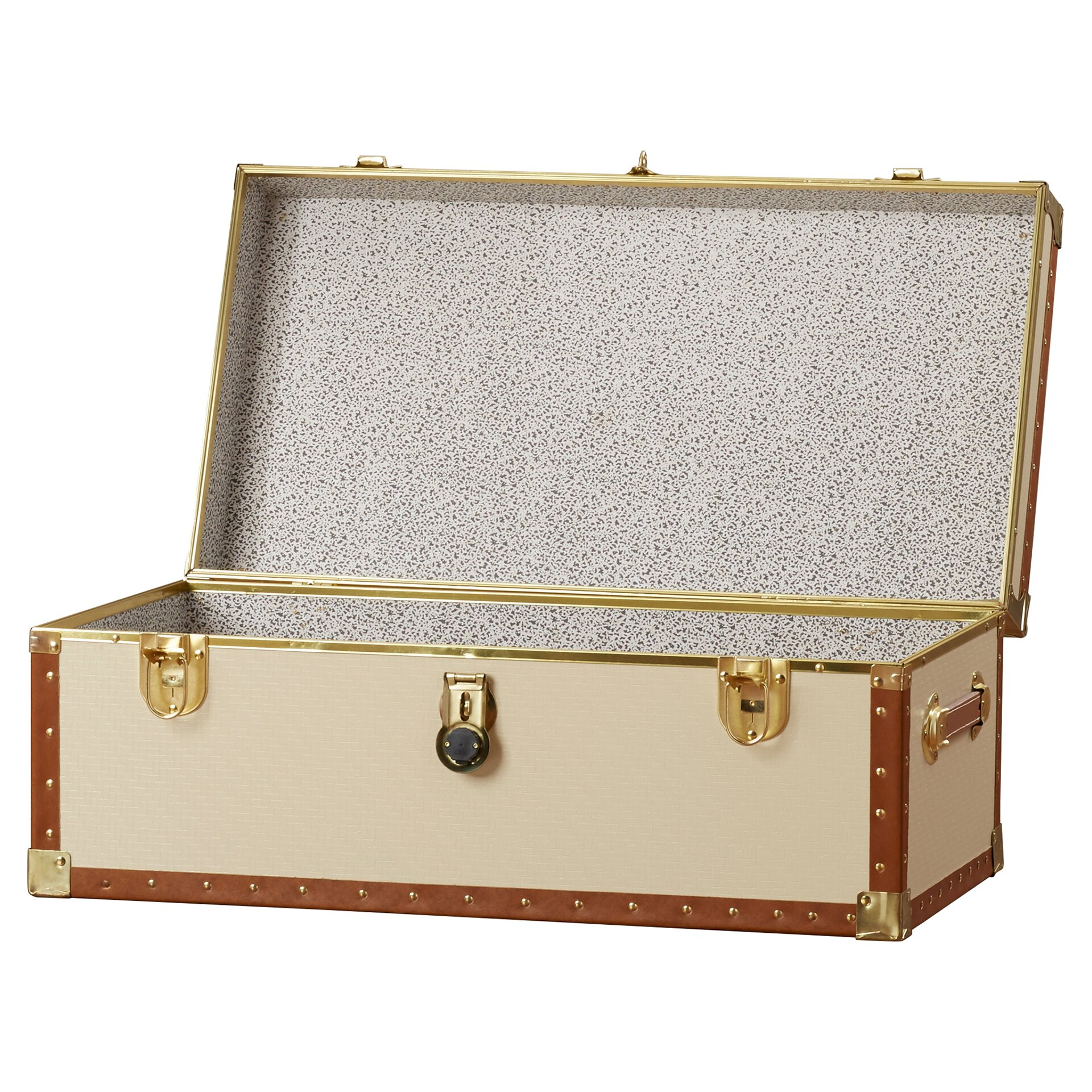 Charlton home easingwold storage trunk reviews wayfair for Storage charlton