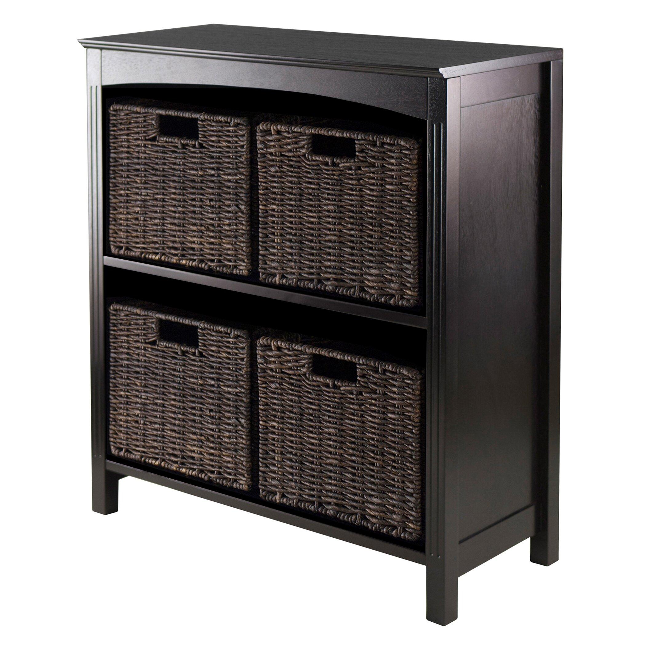 Charlton Home Martinsville 4 Drawer Storage Shelf
