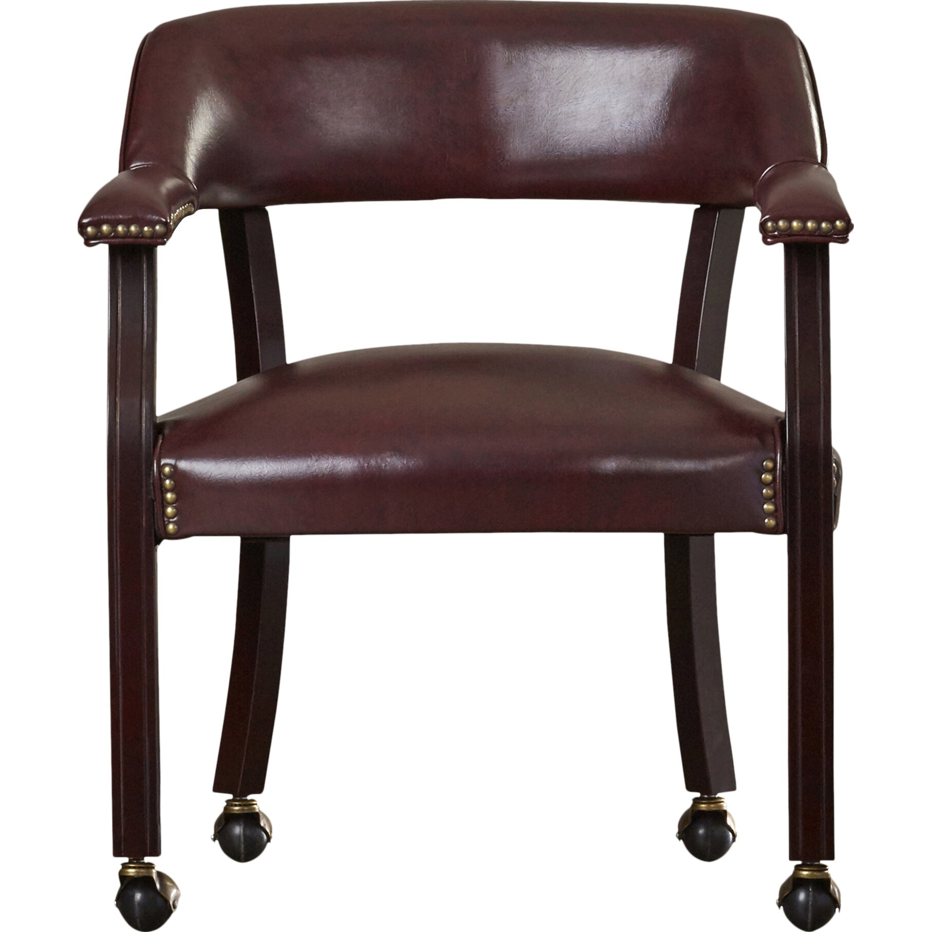 charlton home low back traditional guest chair with wrap