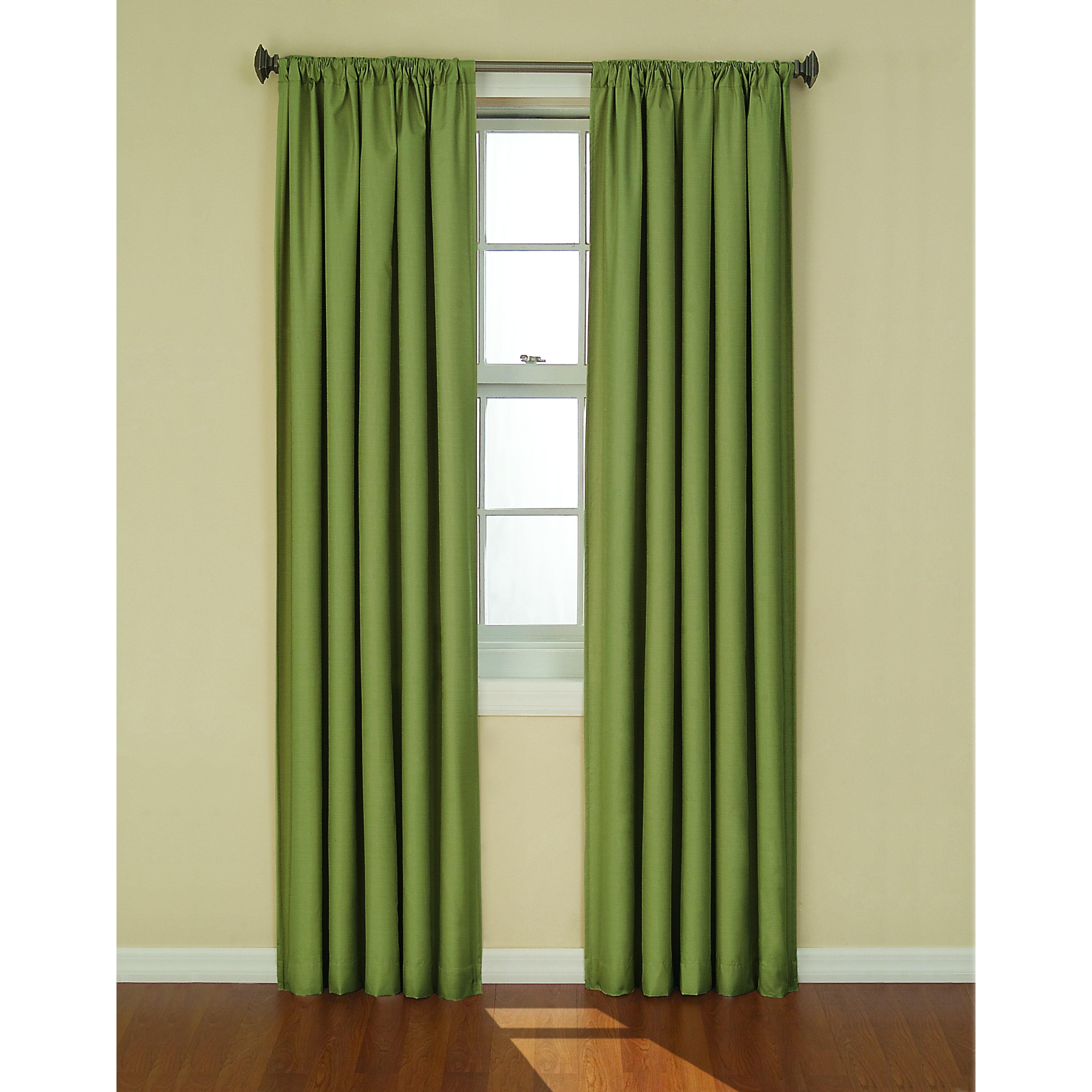 Charlton Home Columbia Rod Pocket Single Blackout Curtain